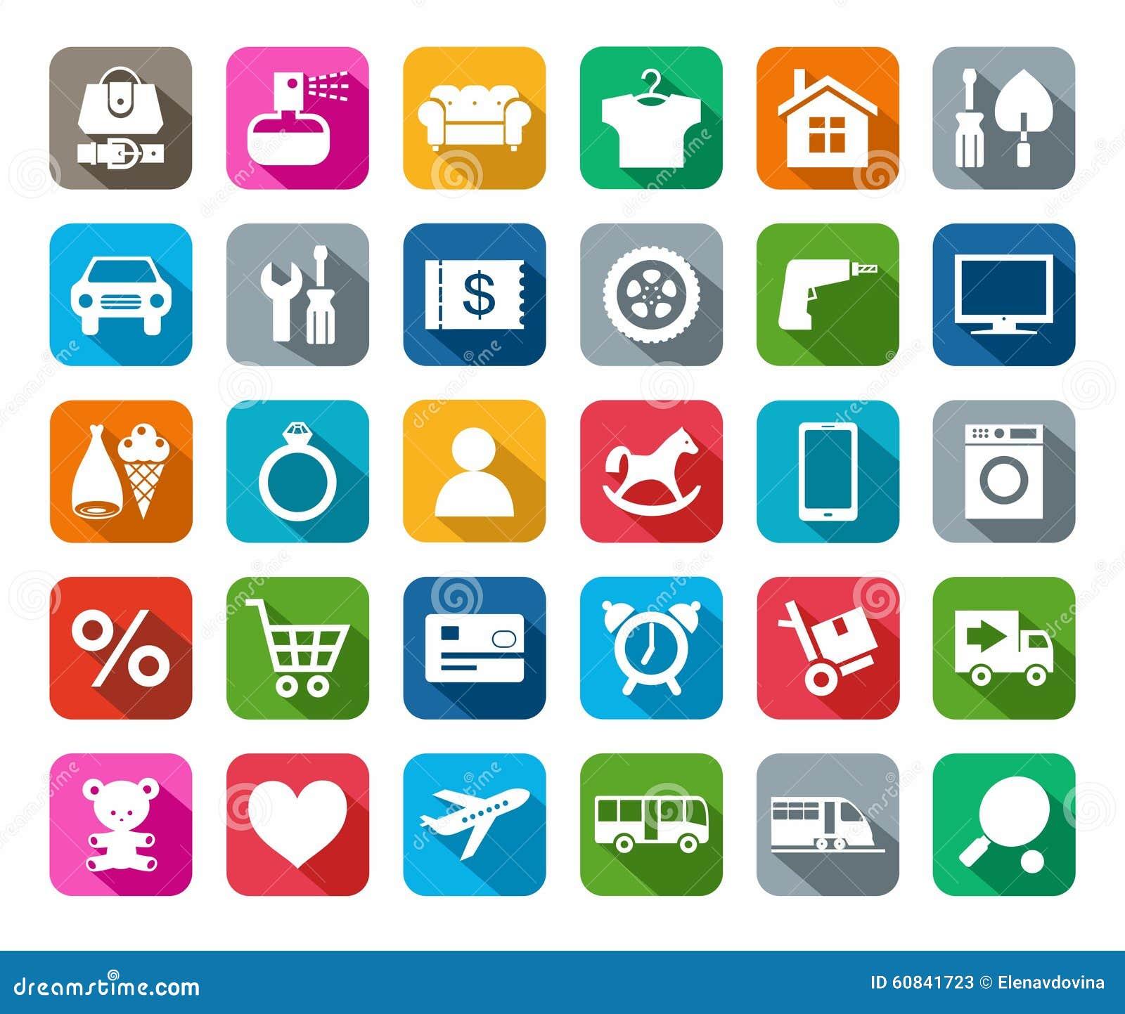 Le icone deposito online categorie di prodotti hanno for Generatore di piano di pavimento online gratuito