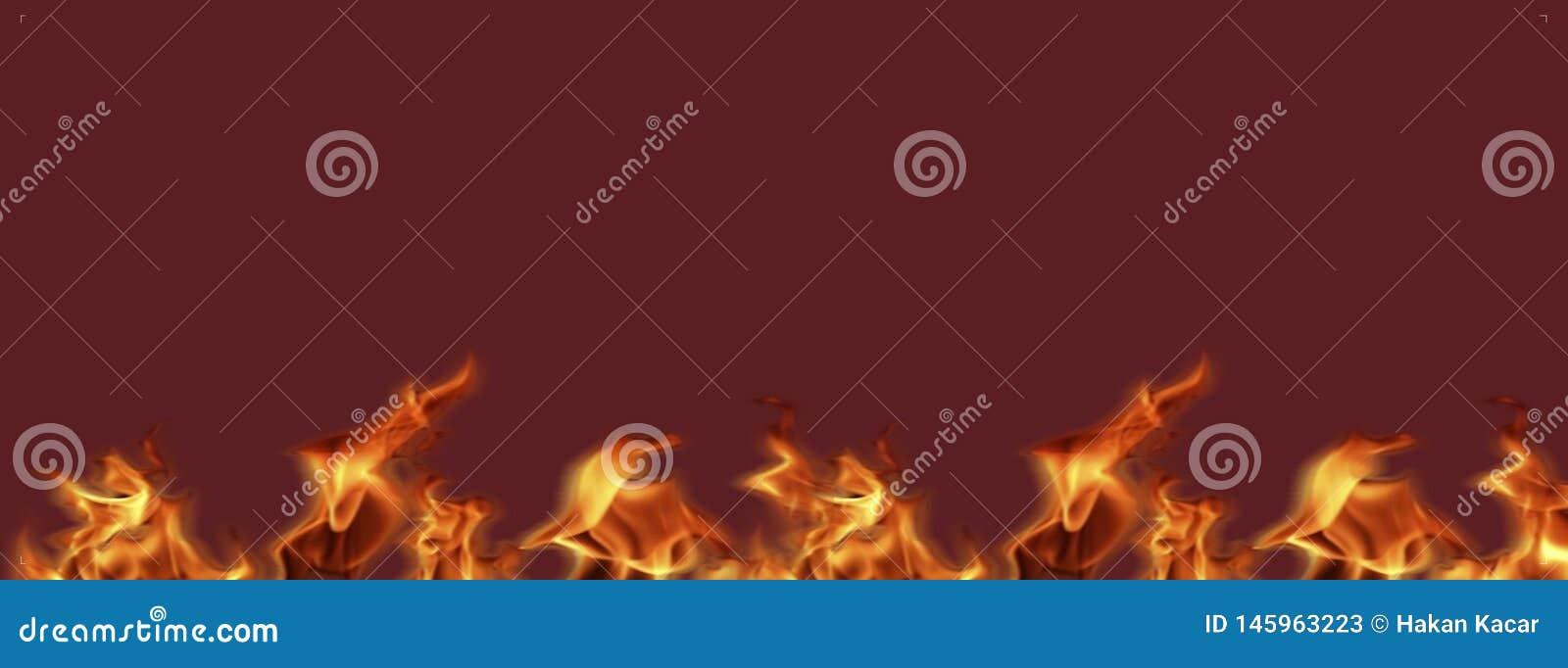 Le insegne del fuoco della fiamma pronte per il lavoro, struttura del fondo per aggiungono il testo o la progettazione grafica