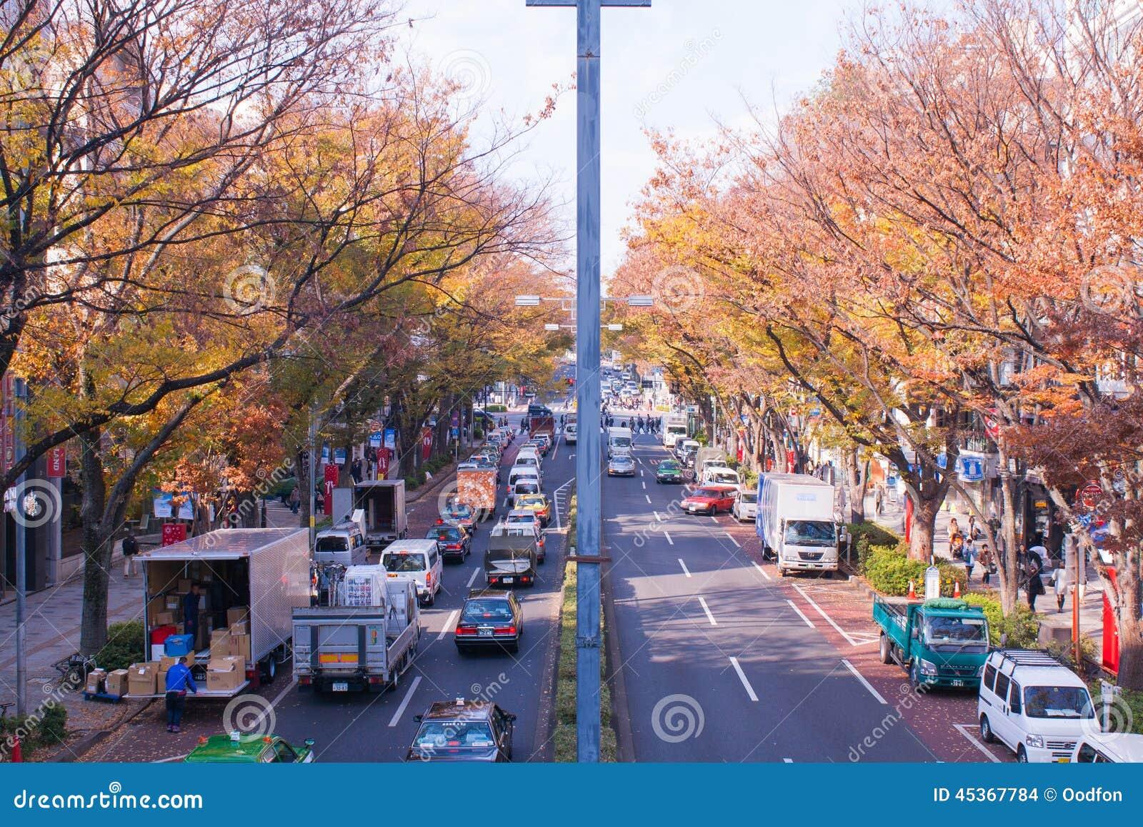 Le Japon dans la saison d automne