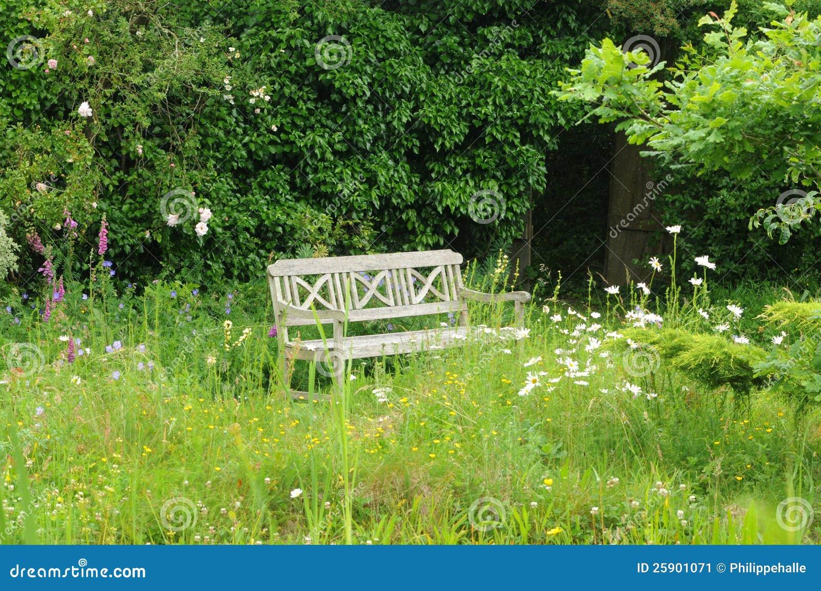 le jardin de l atelier in perros guirec stock image. Black Bedroom Furniture Sets. Home Design Ideas