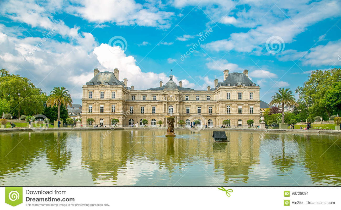 le jardin du luxembourg place of palace garden - Le Jardin Du Luxembourg