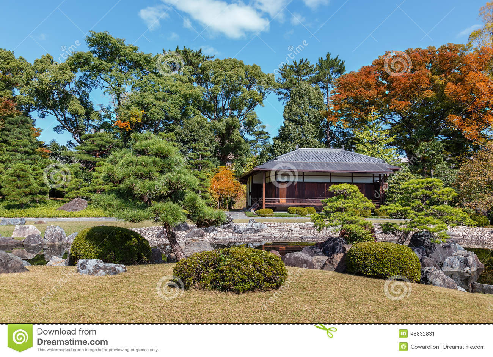 Le Jardin Seiryu-en Et Le Salon De Thé Chez Nijo Se ...