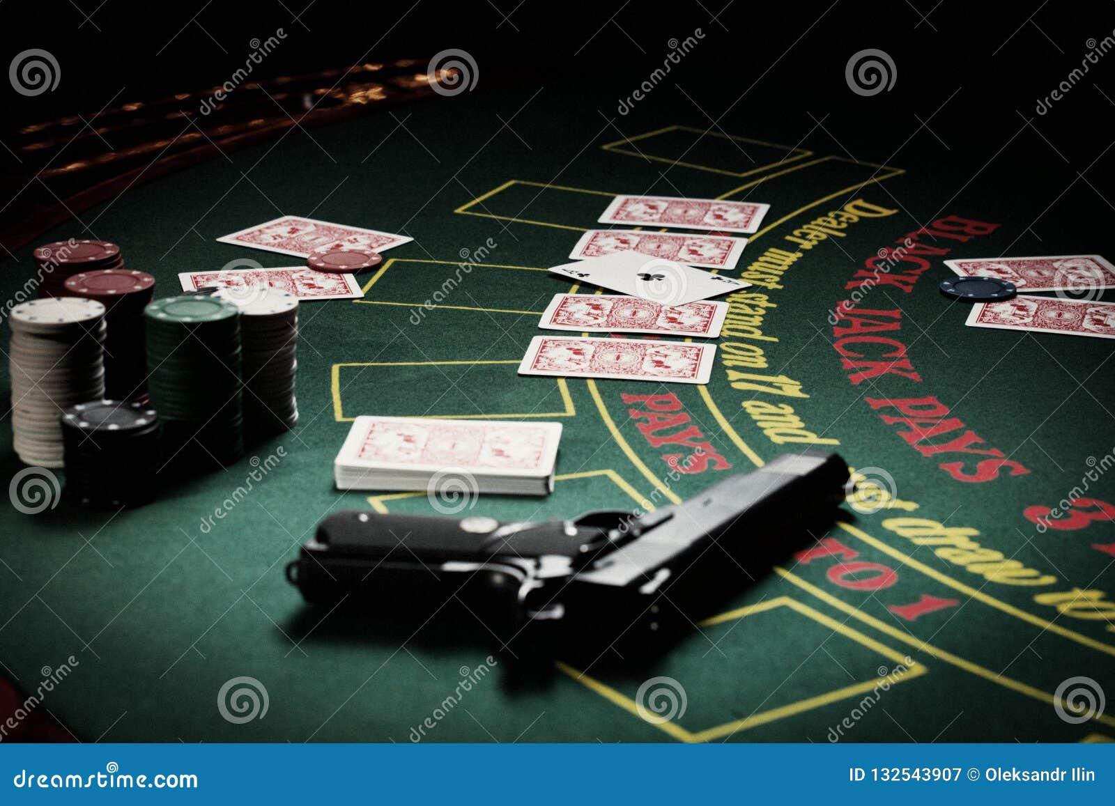 Le joueur dans le casino