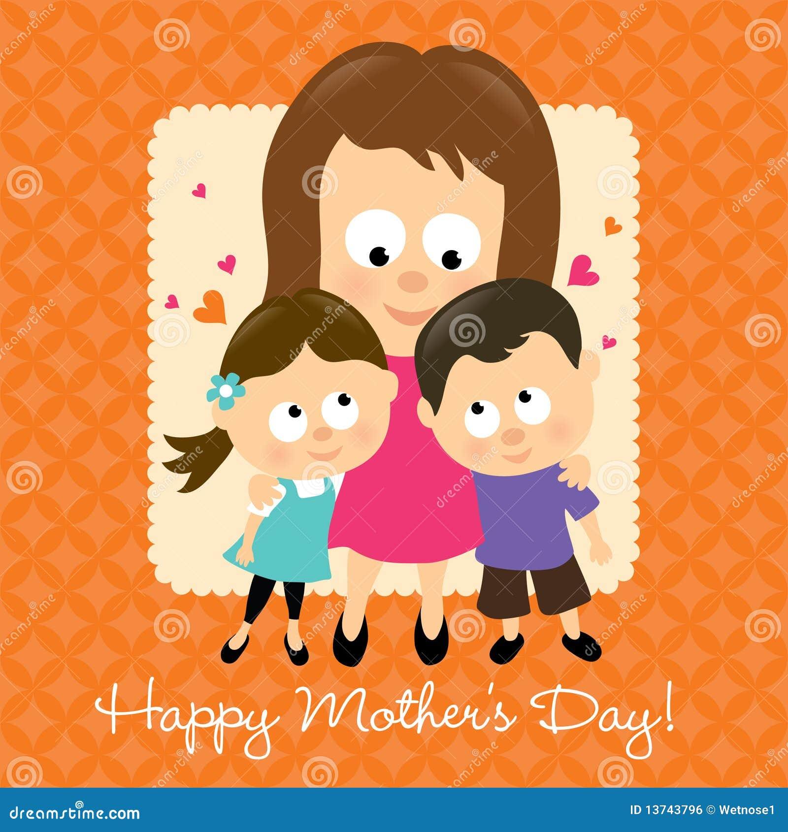 Le jour de mère heureux 2