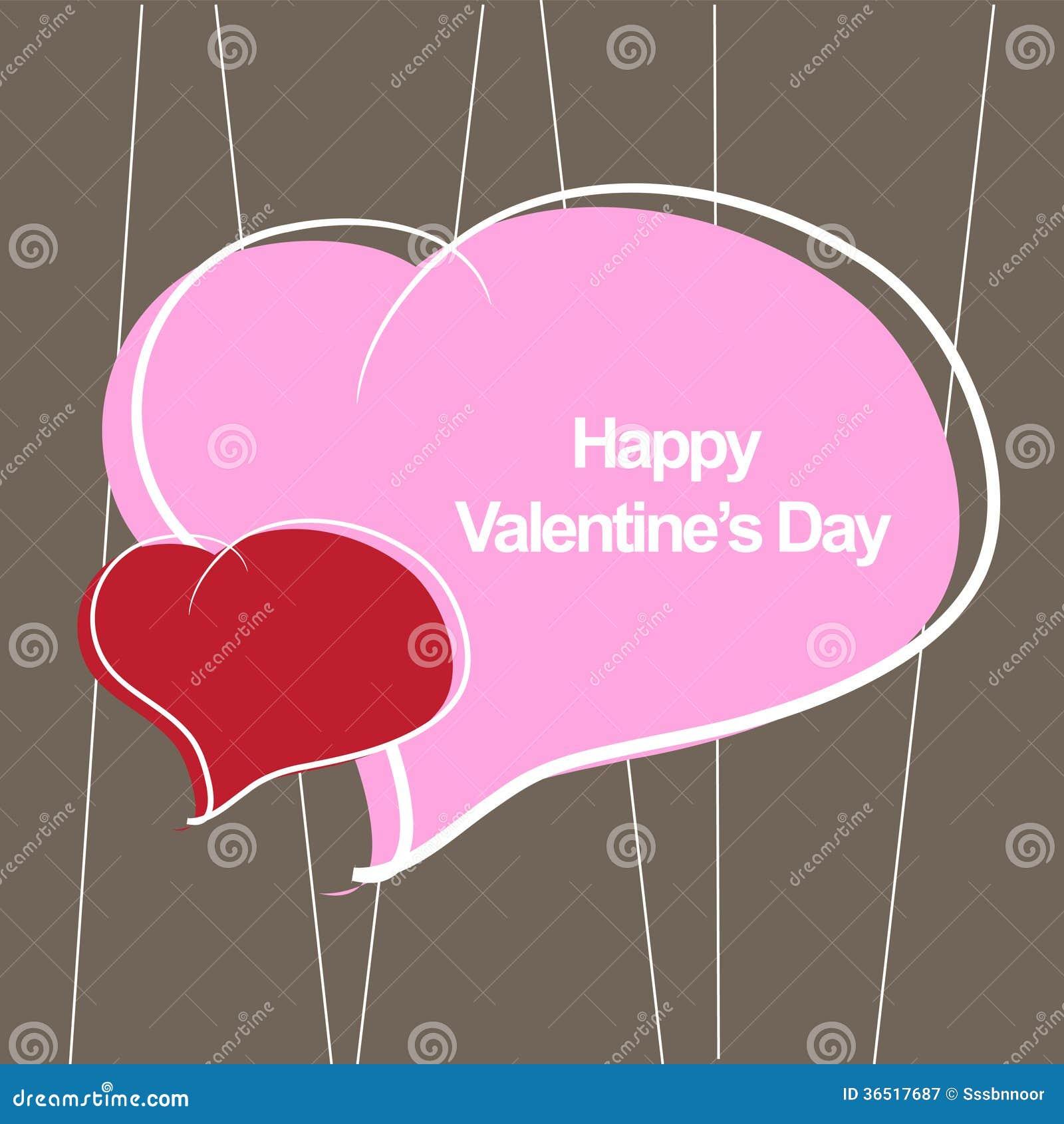 Le jour de valentine heureux