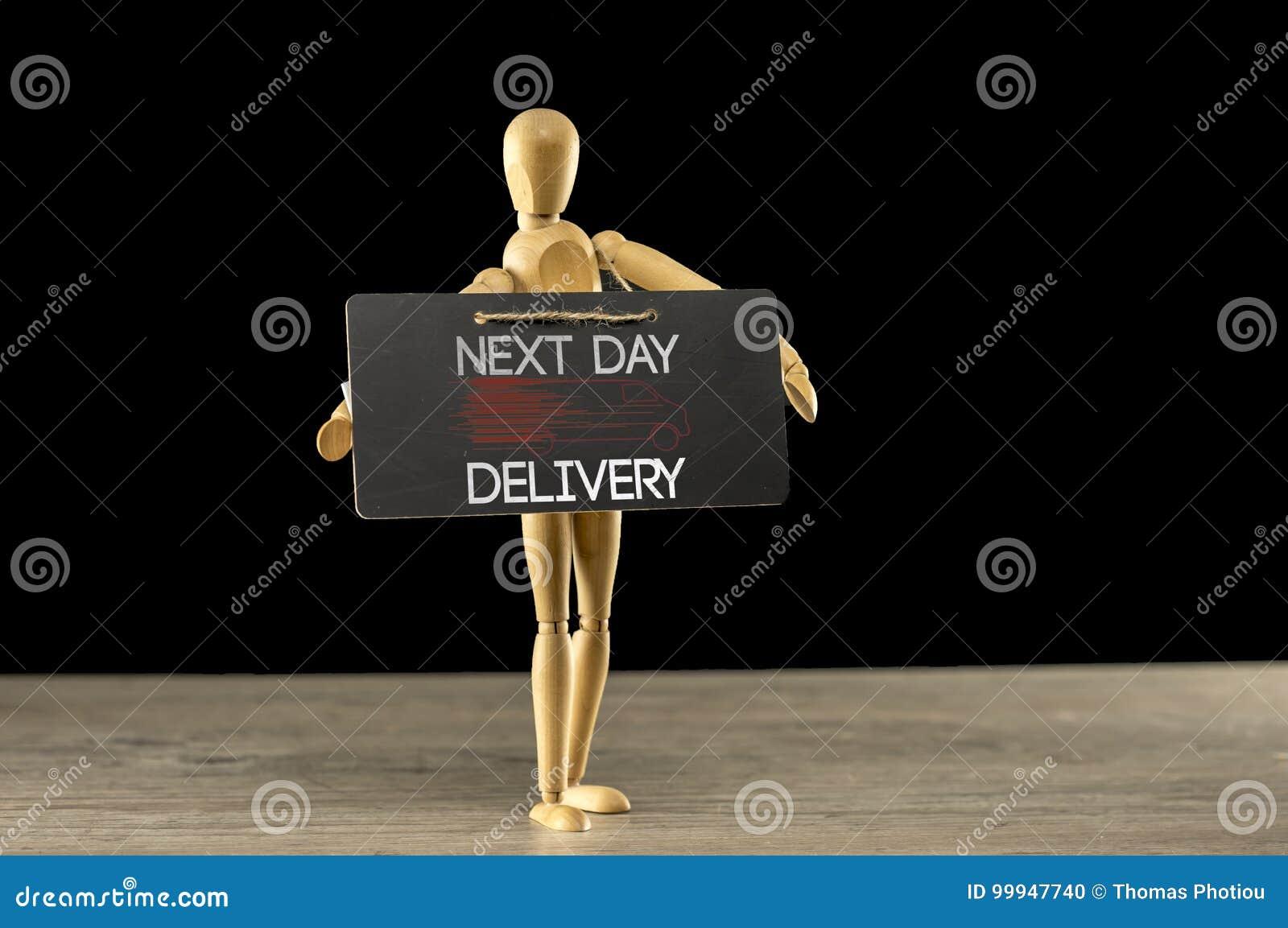 Le jour suivant signe de la livraison