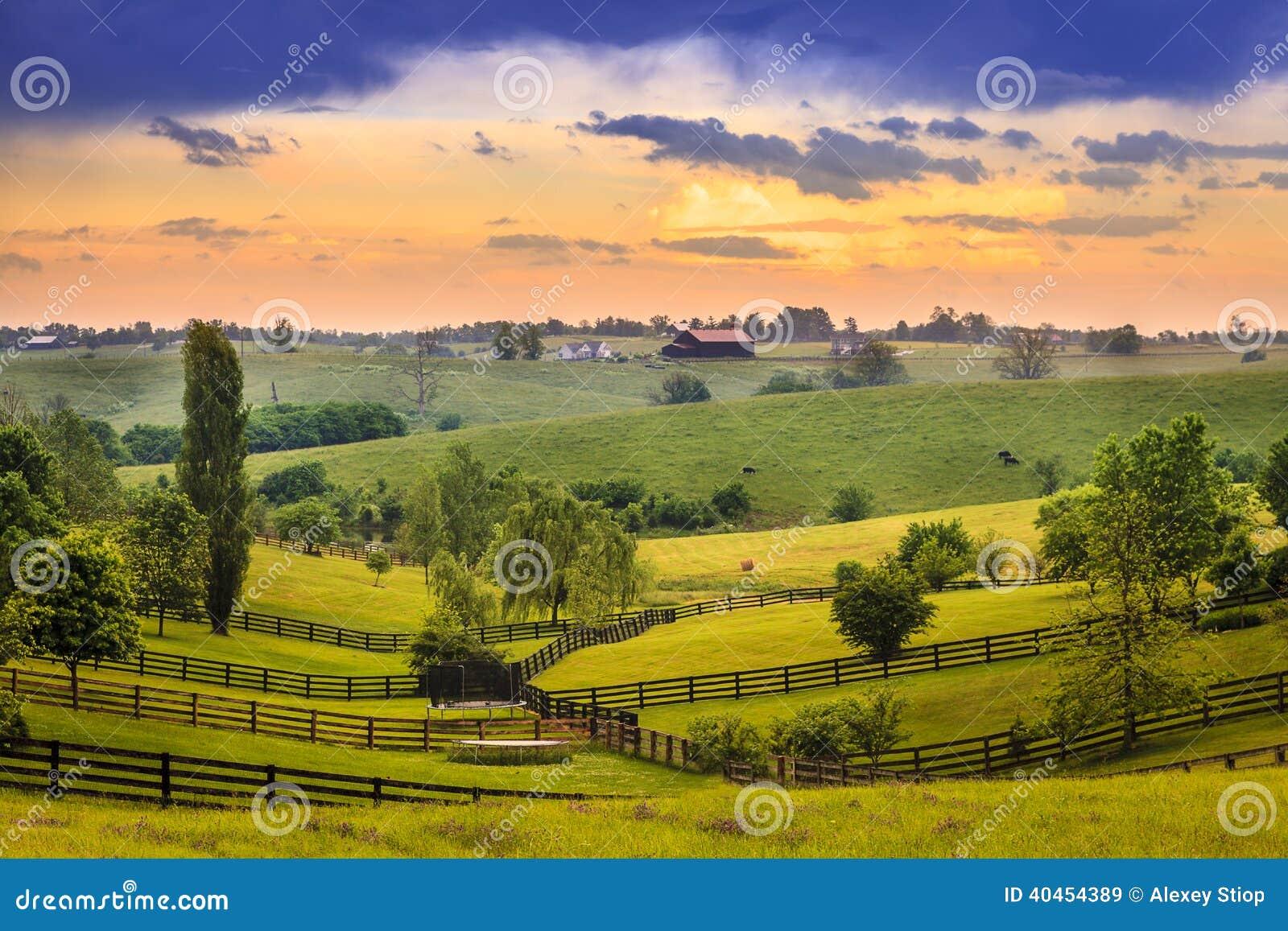Le Kentucky rural