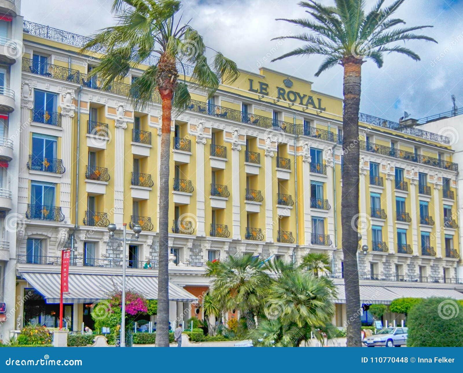 Le Królewski, trzy gwiazdy Hotelowej w Ładnym, Francja