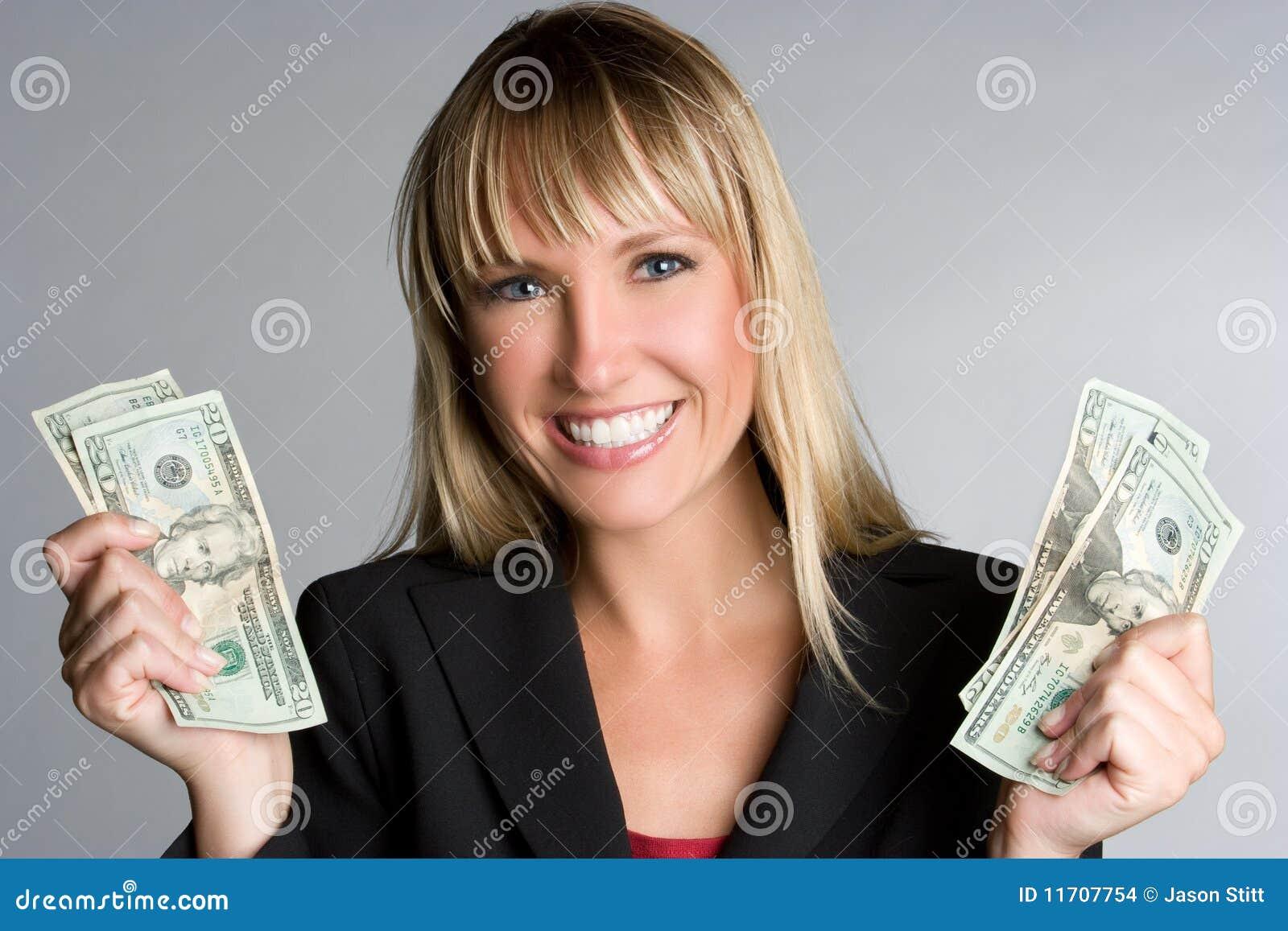 Le kvinna för pengar