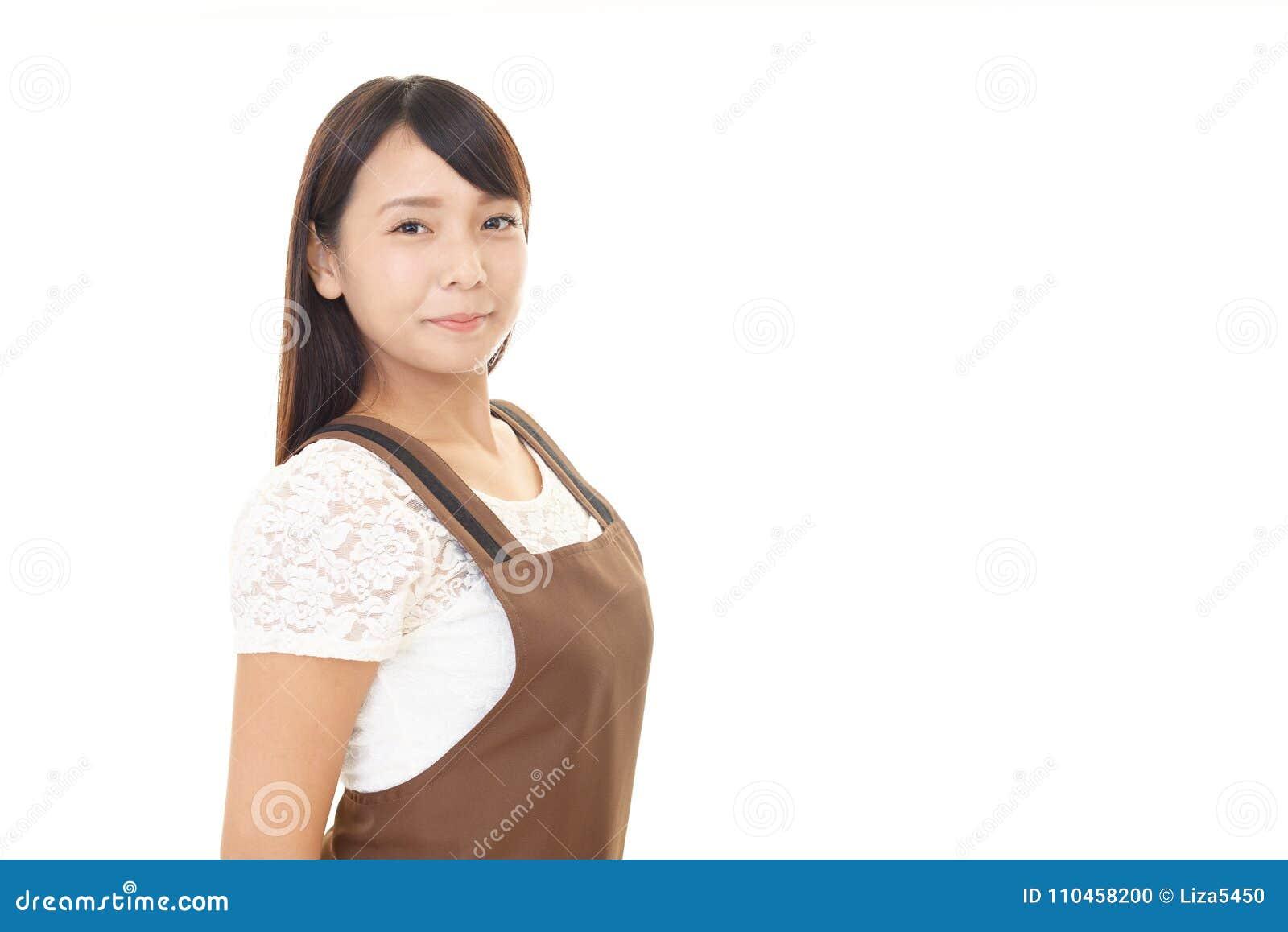 Le kvinnan i förkläde