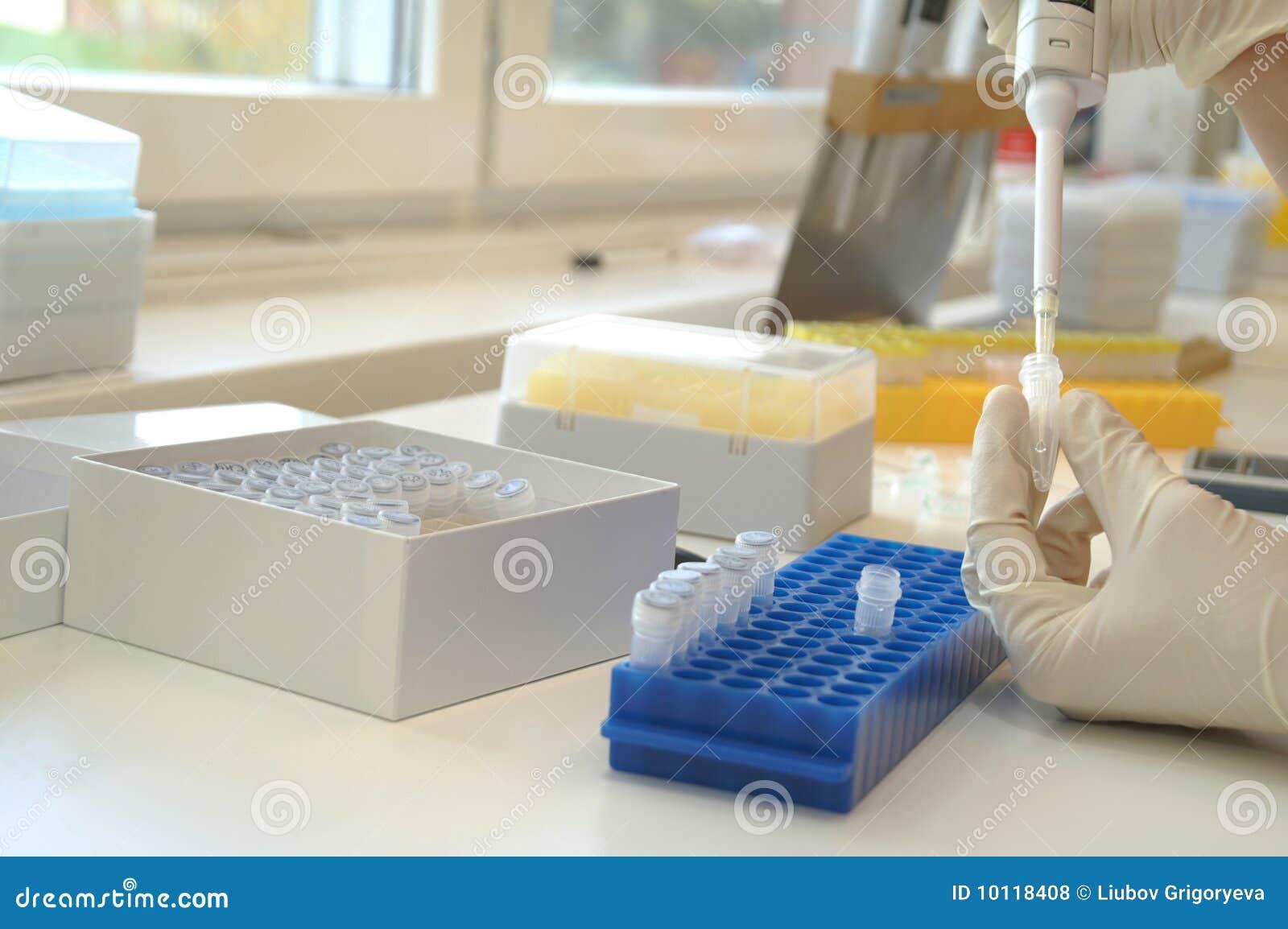 Le laboratoire biologique