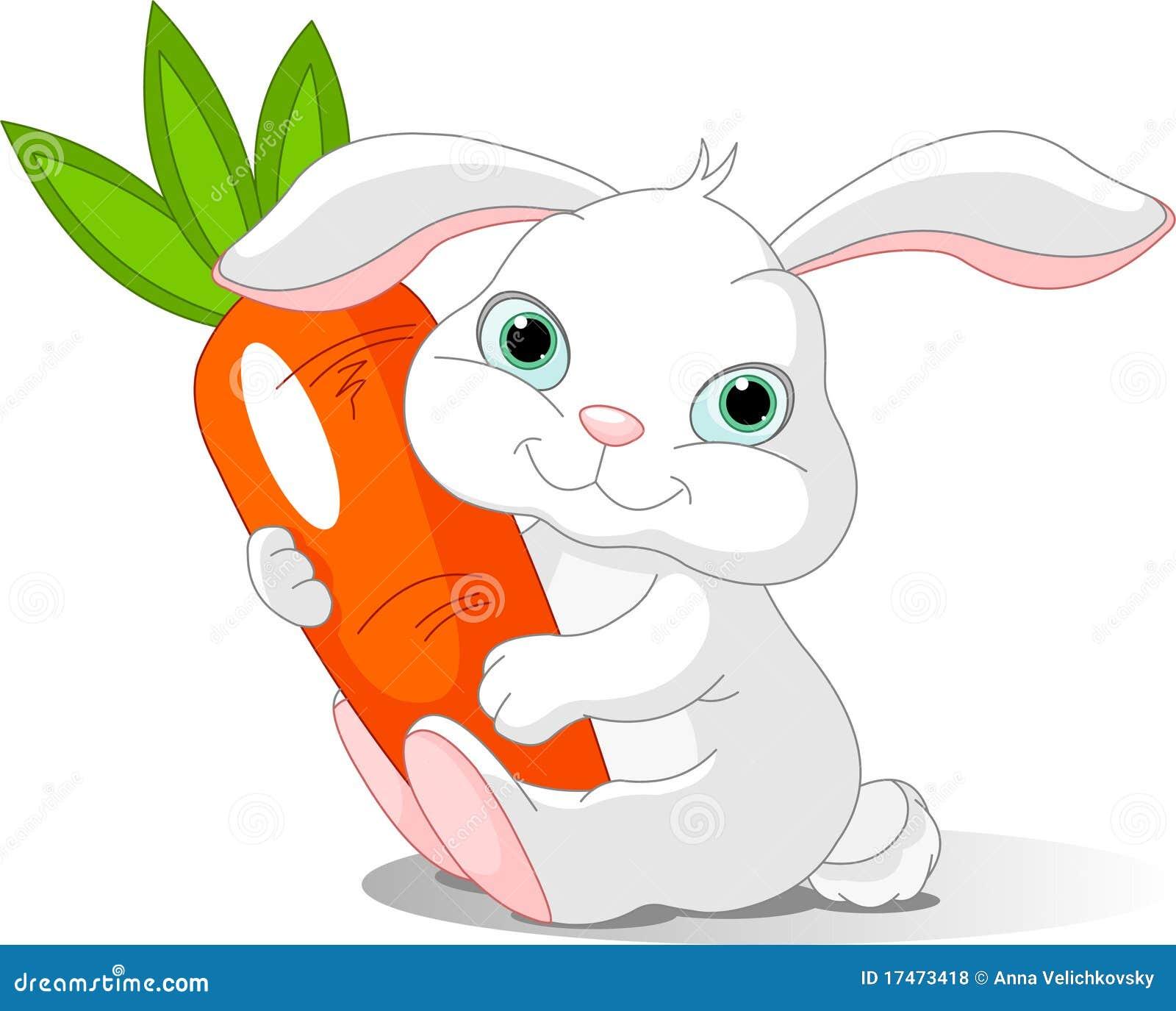 Le lapin retient le raccord en caoutchouc géant