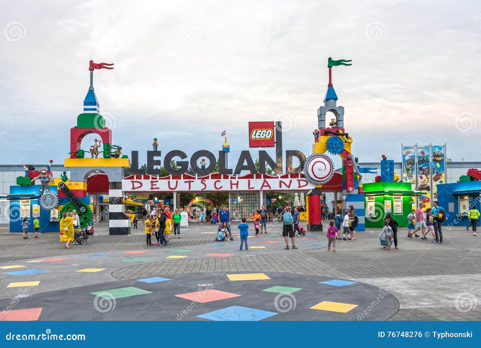 Carte Legoland Allemagne.Le Legoland Allemagne Photo Editorial Image Du Plaza 76748276