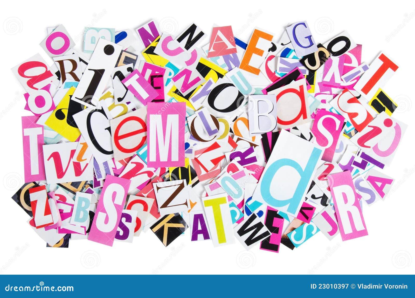Le lettere hanno tagliato dai giornali