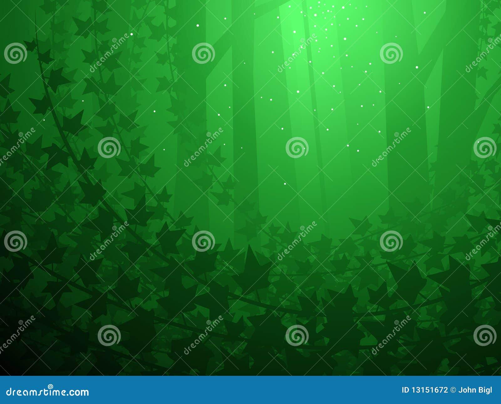 Le lierre a couvert la forêt