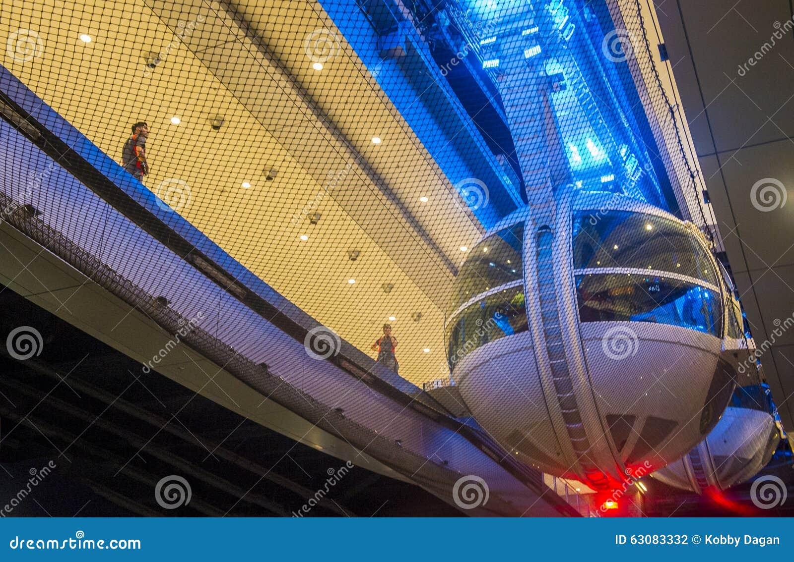 Download Le Linq Las Vegas photographie éditorial. Image du vegas - 63083332