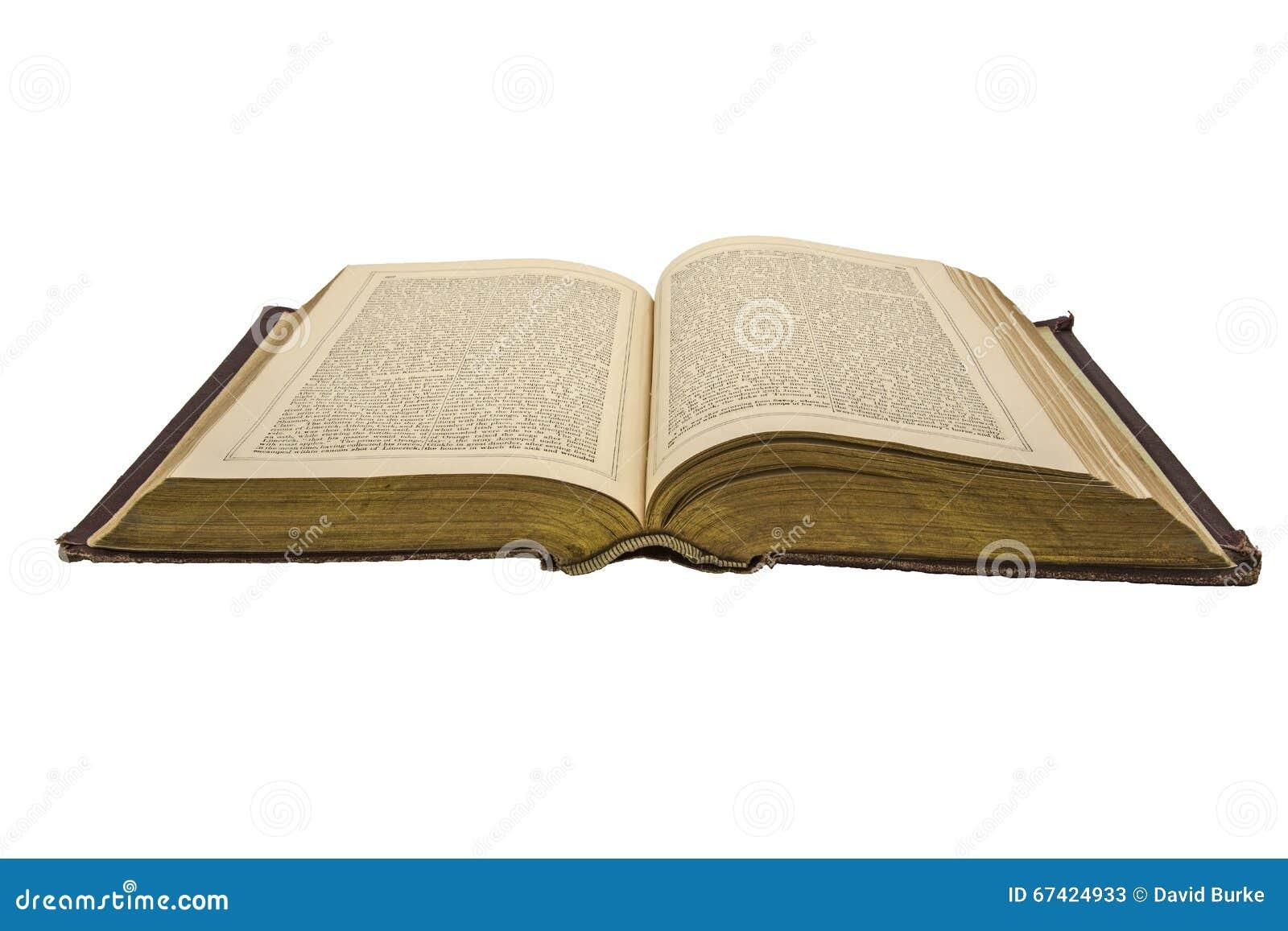 Le livre d histoire antique ouvert s est fané fond d isolement