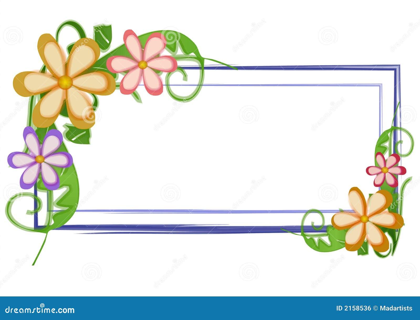 Le logo de page Web fleurit floral