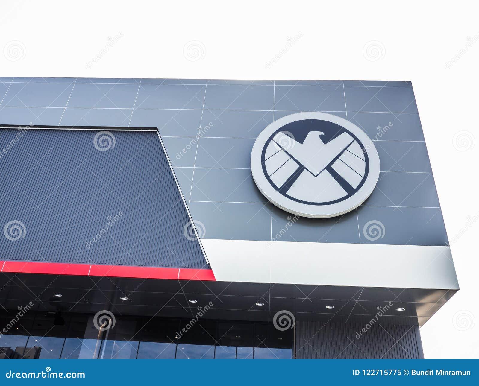 Le logo de S H I E L d est un espionnage fictif, chargé de faire respecter la loi spécial, apparaissant dans les bandes dessinées