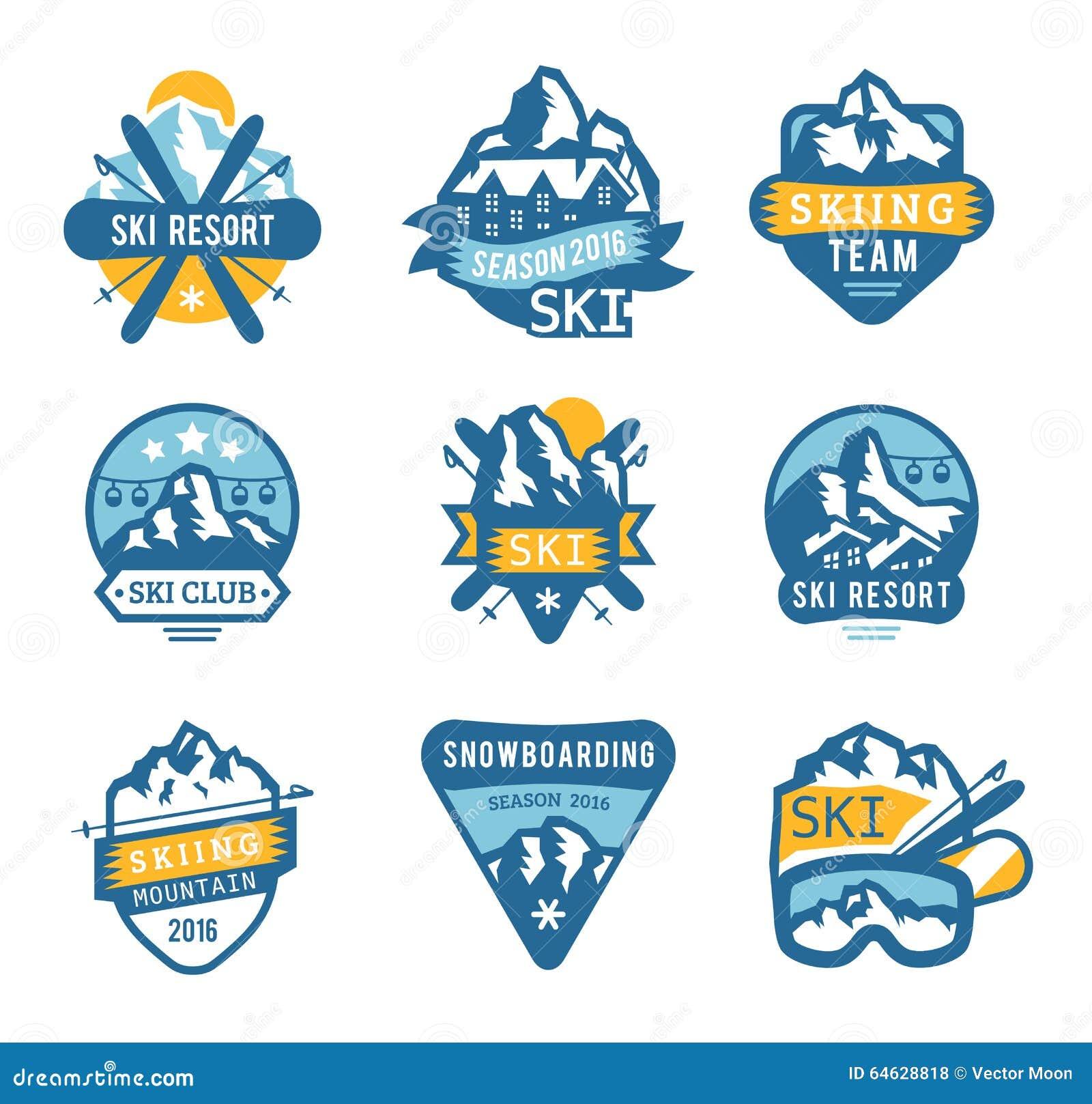 Le logo de station de sports dhiver symbolise marque le vecteur d download le logo de station de sports dhiver symbolise marque le vecteur d thecheapjerseys Images