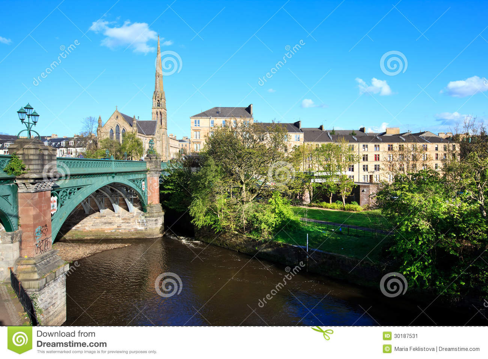 Paysage urbain de Glasgow