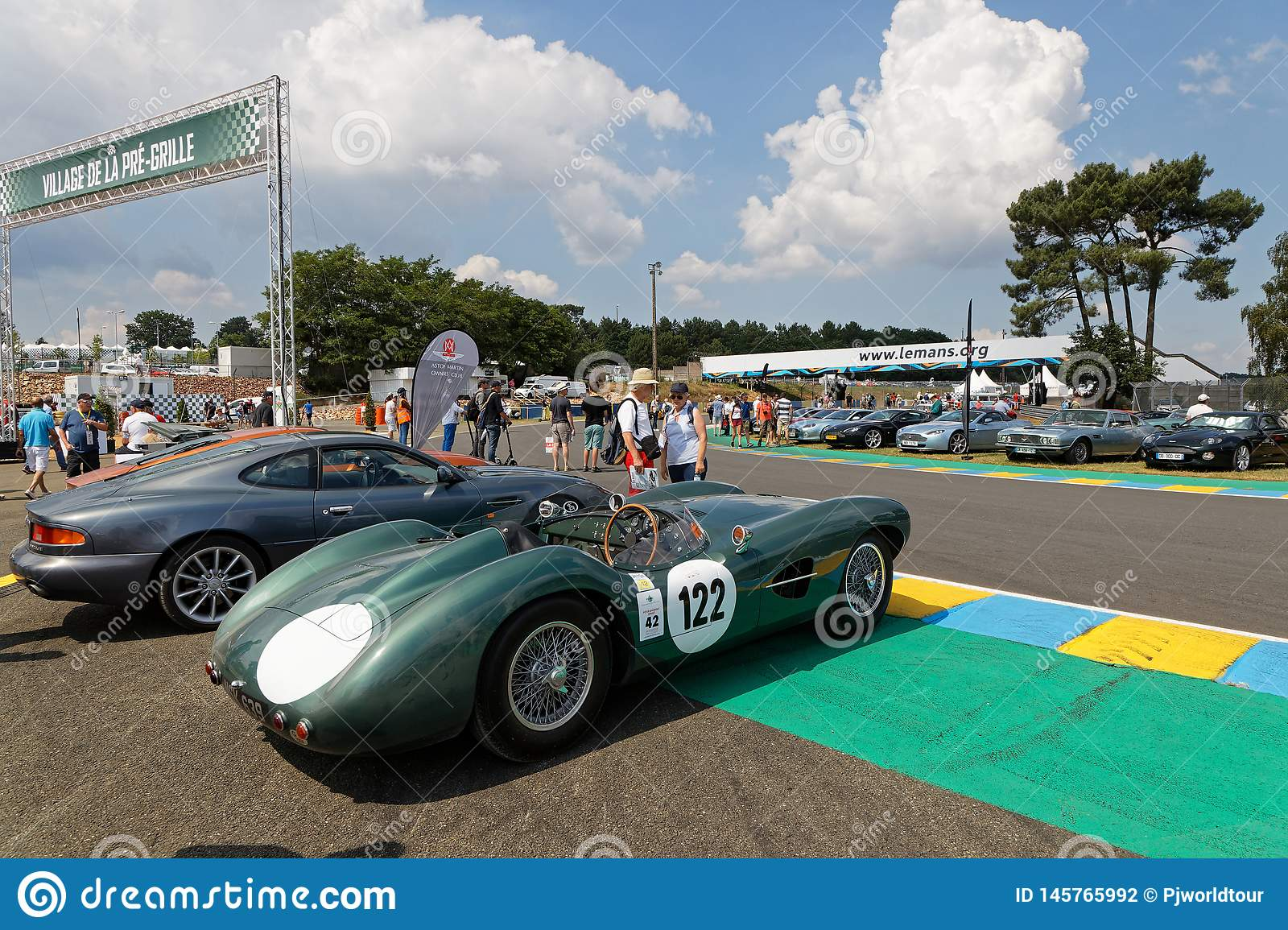 Aston Martin Exhibition At Le Mans Classic Editorial Photography Image Of Classic Parade 145765992