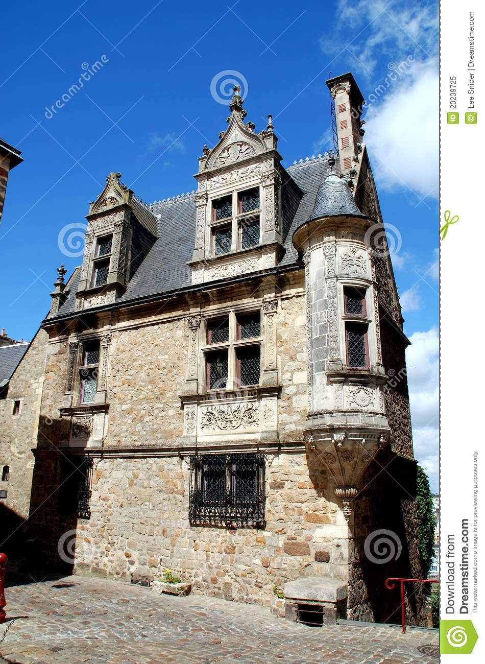 Le mans france la maison de la tourelle royalty free for De lamaison fr