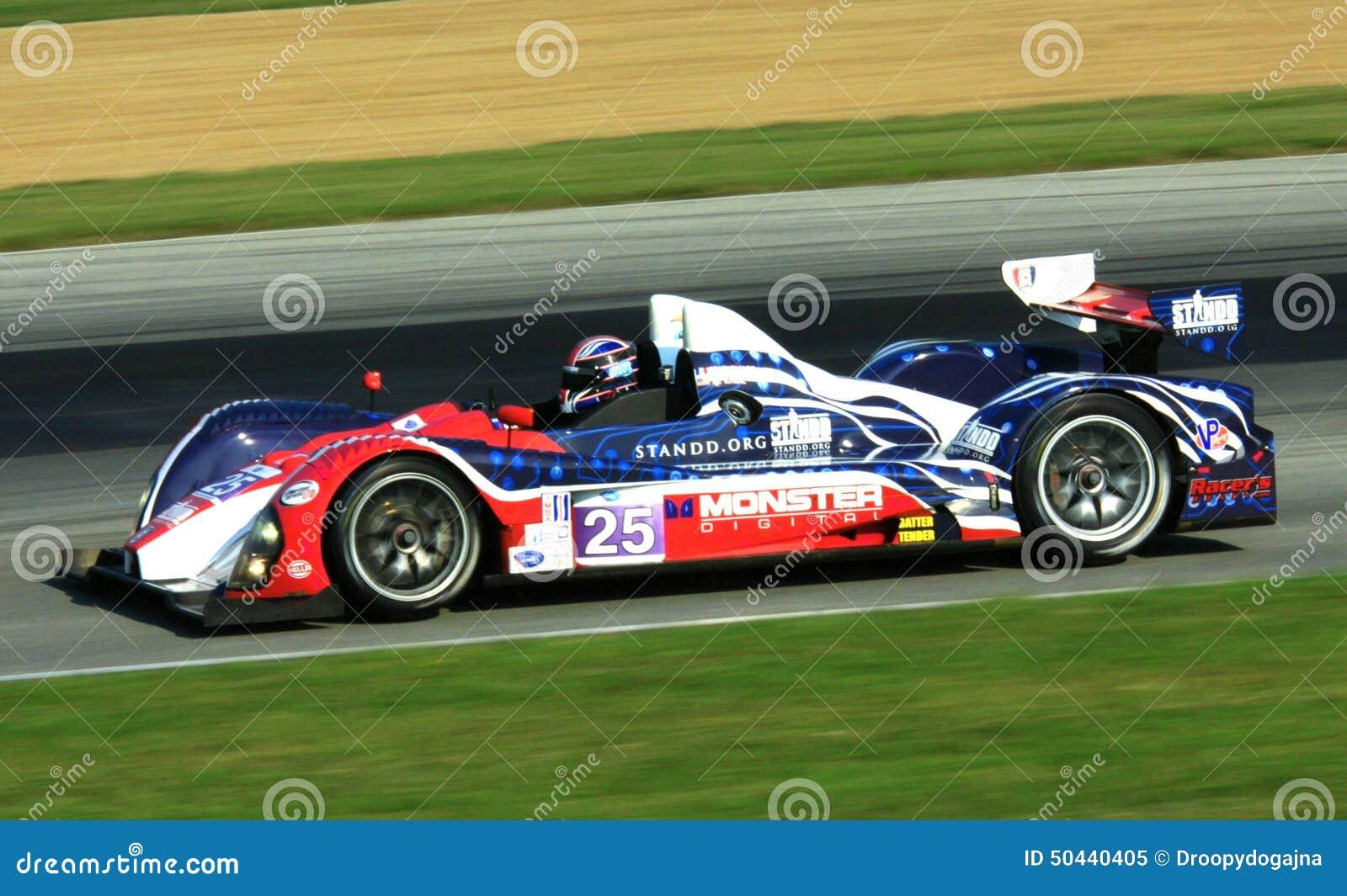 Le Mans Prototype Race Car Editorial Image Image Of Mans 50440405
