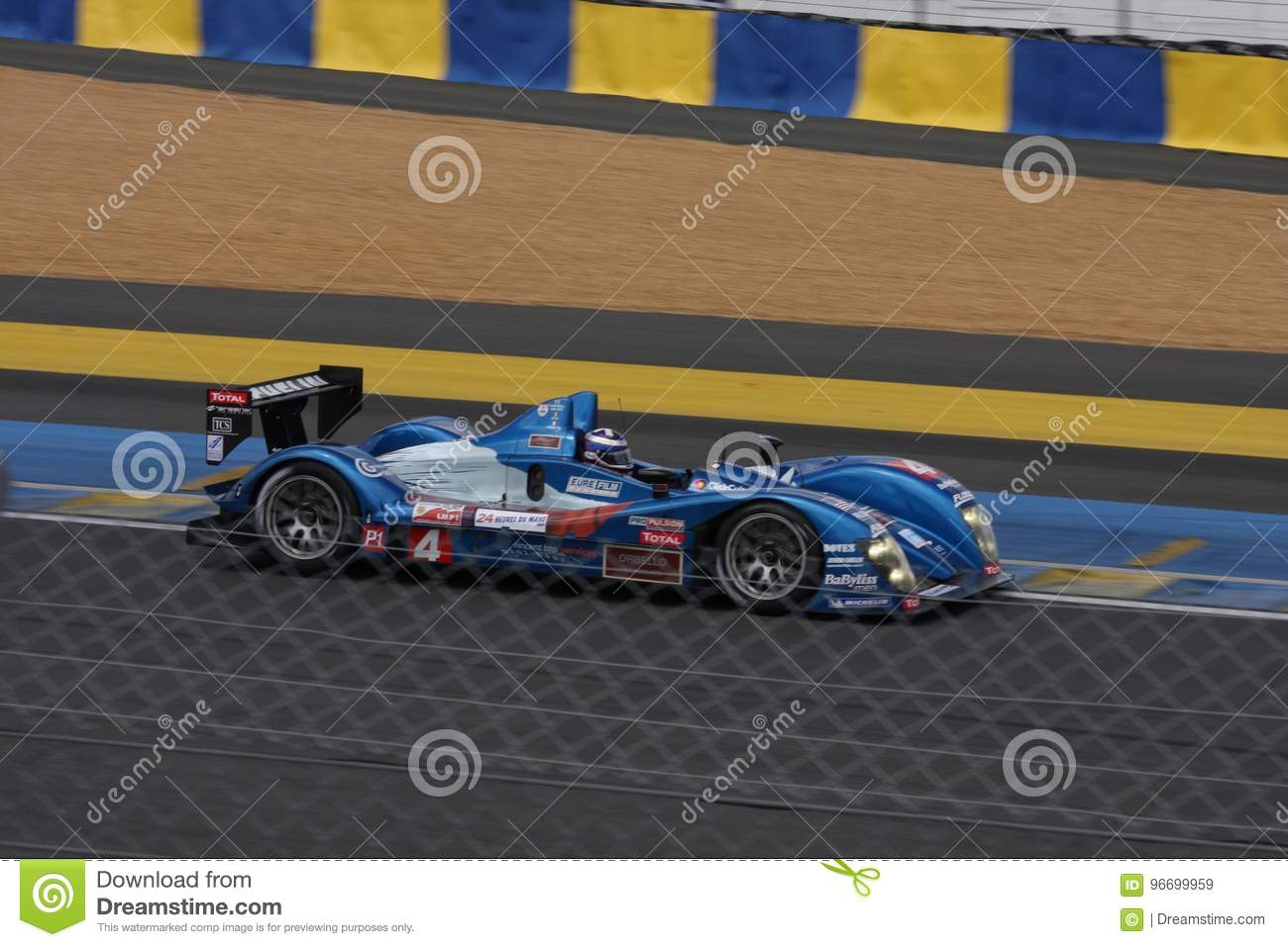 Le Mans Racing Track Racing Cars Circuit, High Speed Fast Sports Car ...