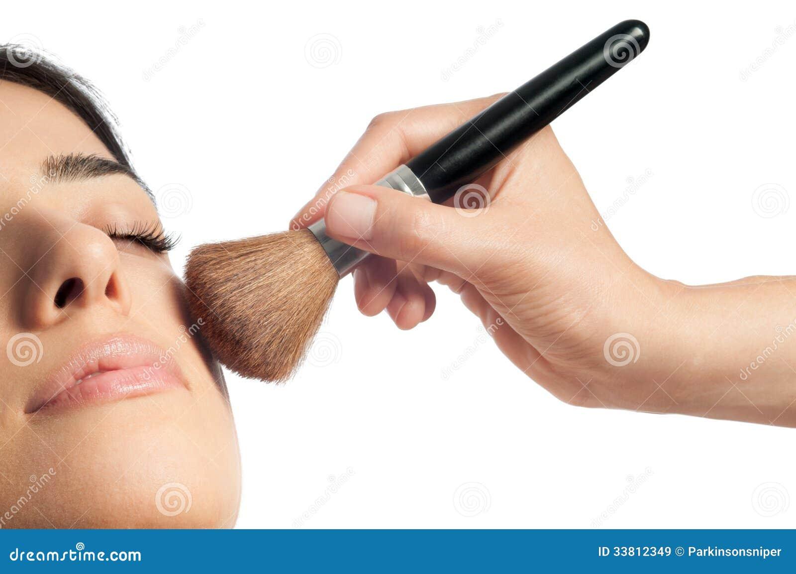 Le maquillage et rougissent