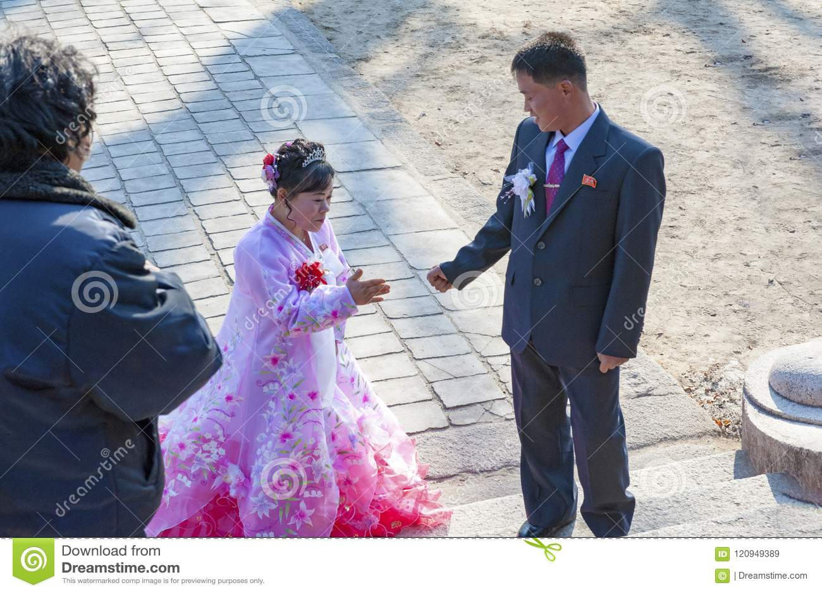 Le mariage de Kaesong Cheng Jun Museum, Corée du Nord