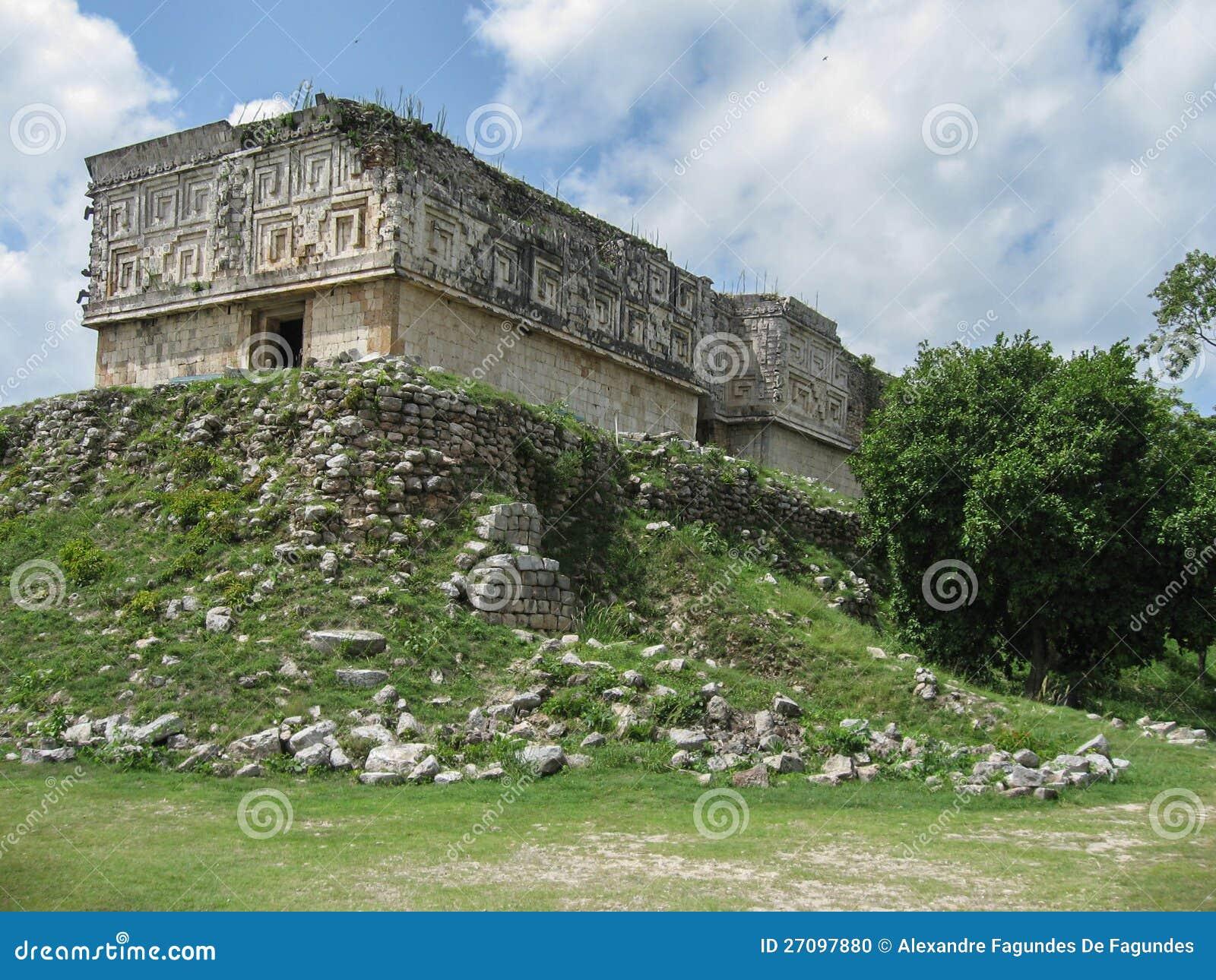 Le maya d 39 uxmal ruine le del gobernador mexique de maison for La maison du mexique