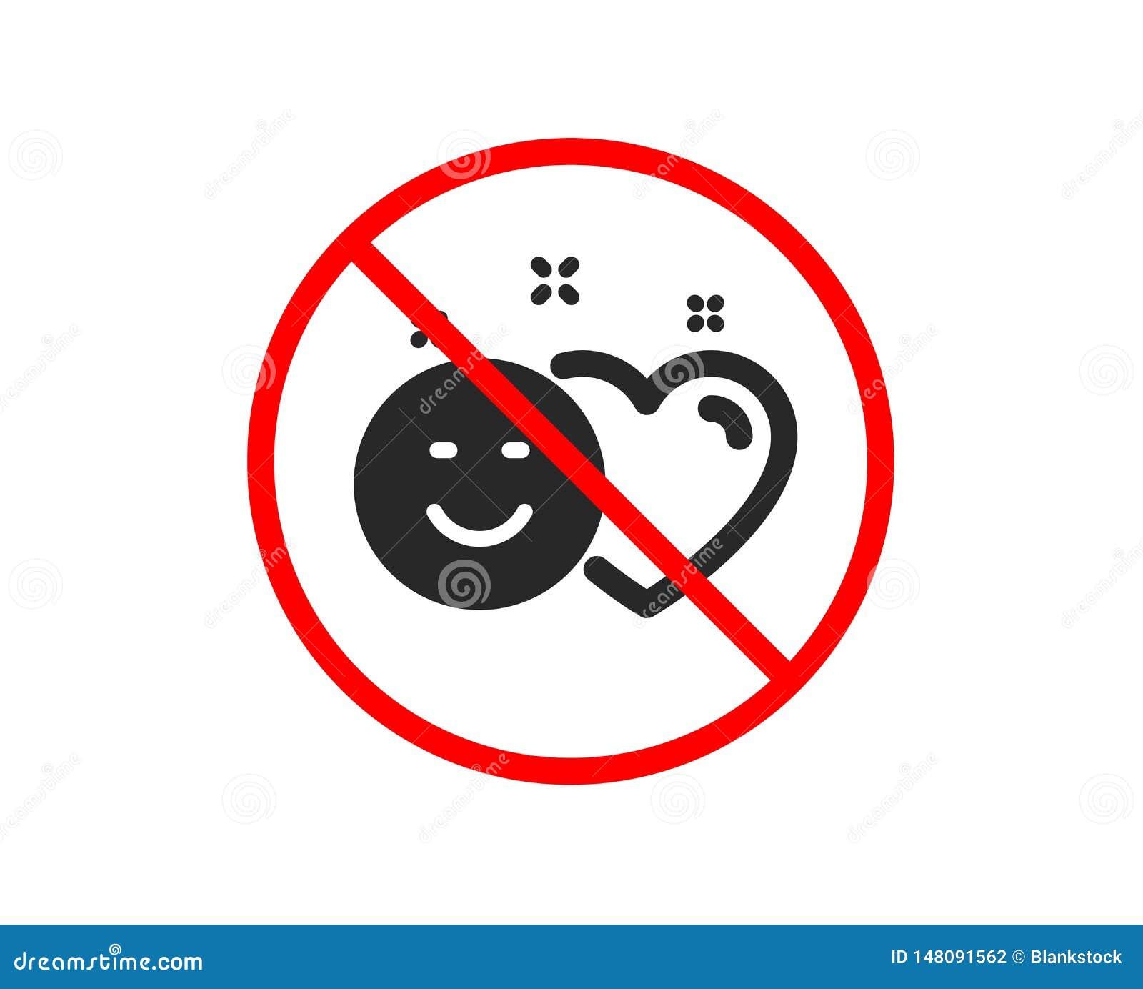 Le media social aime l ic?ne Coeur, signe de sourire Vecteur