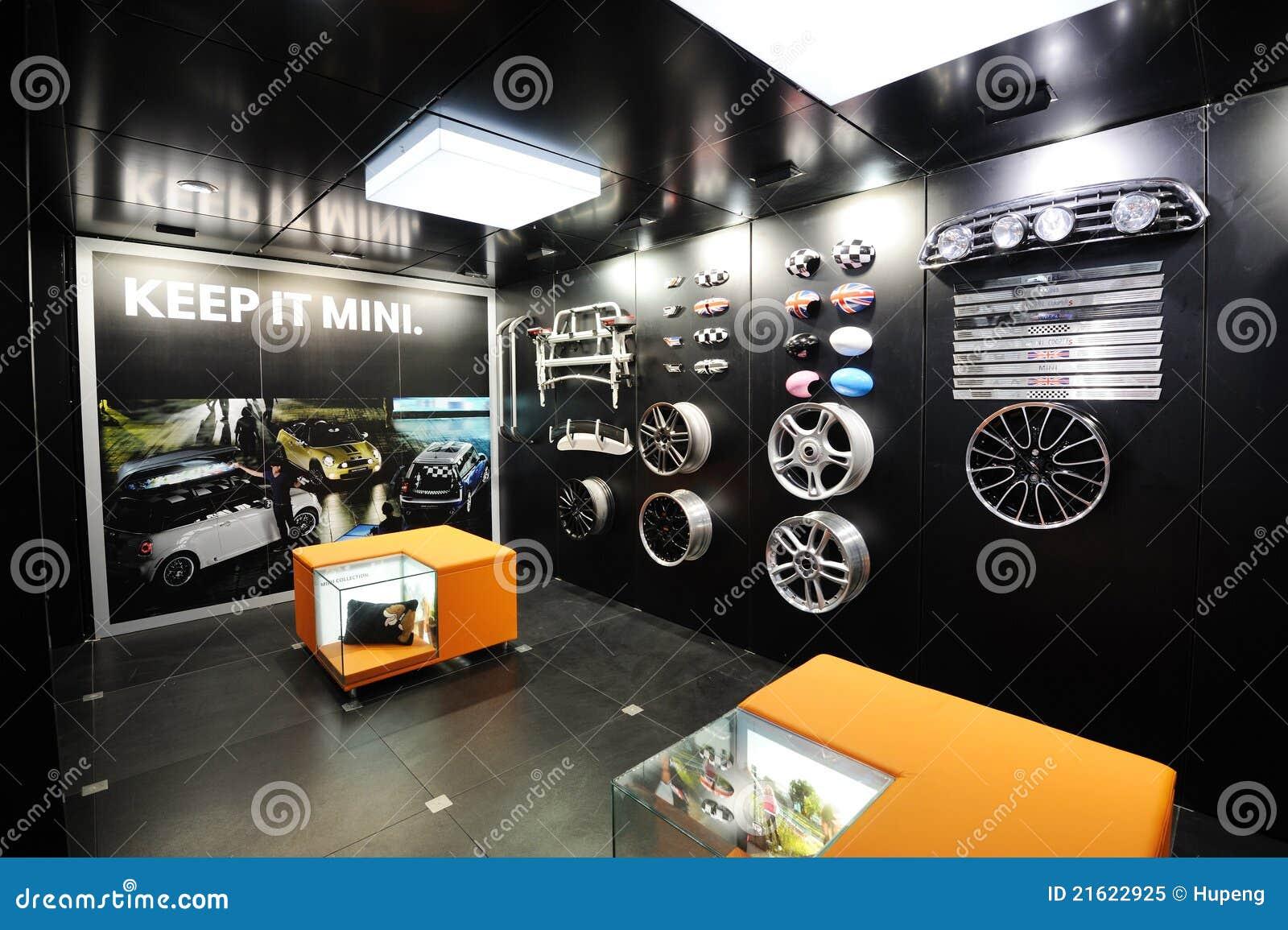 le mini véhicule partie le pavillon image éditorial - image du