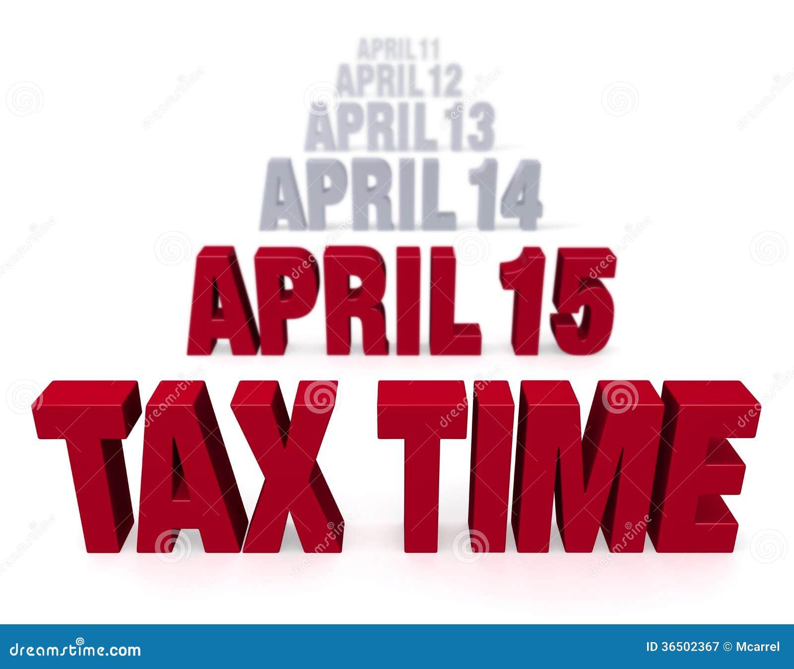 Le moment d impôts vient