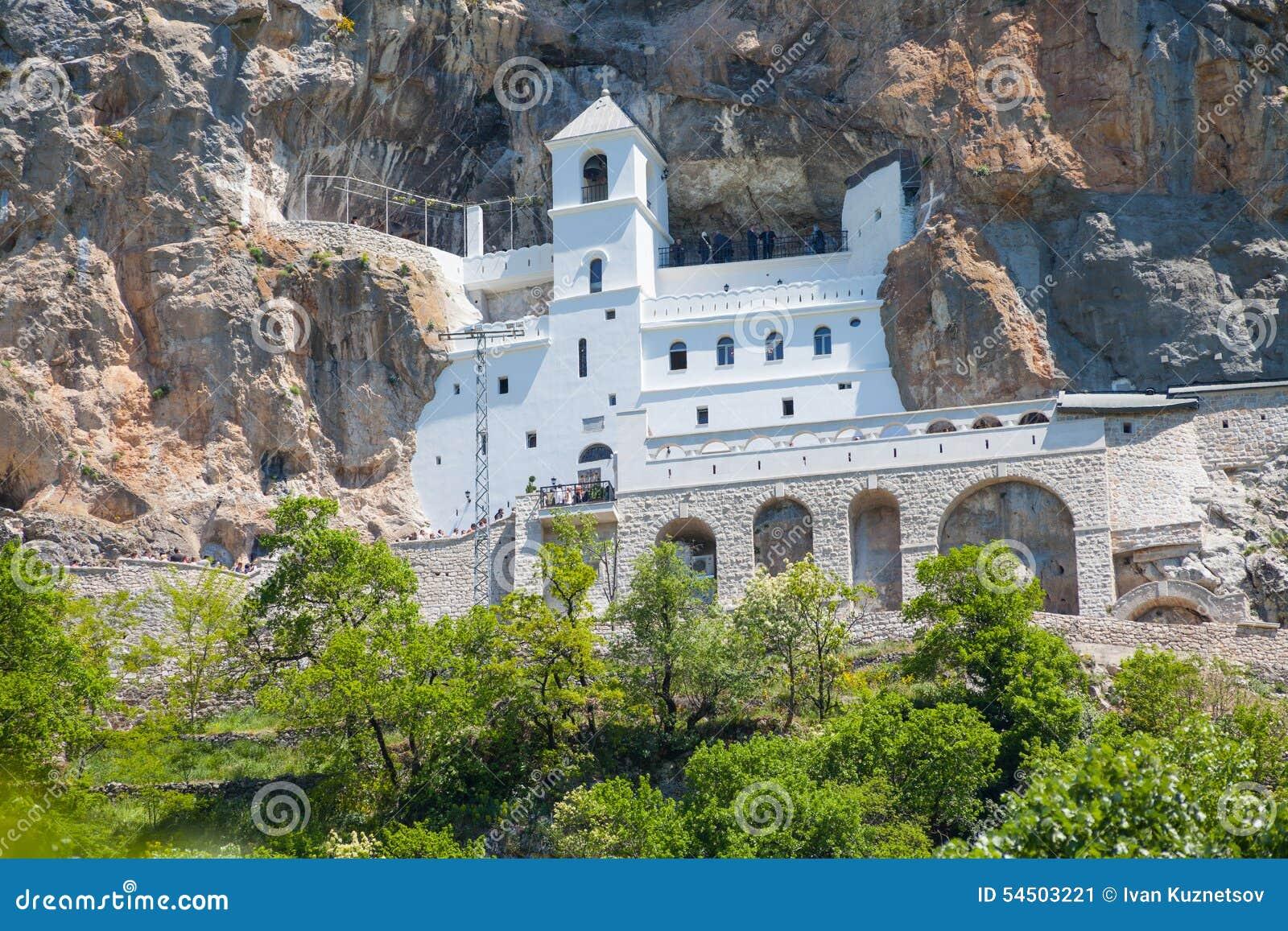 Le monastère Ostrog est un monastère de serbe
