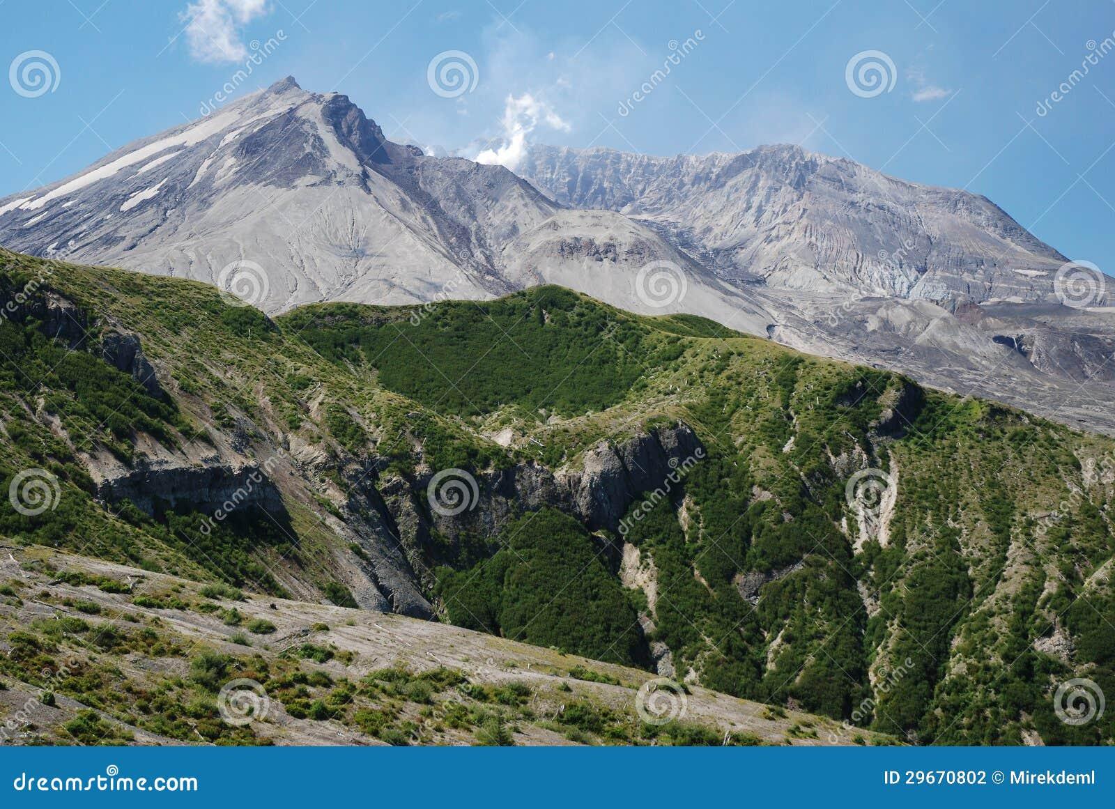 le mont helens washington etats unis photographie stock image 29670802