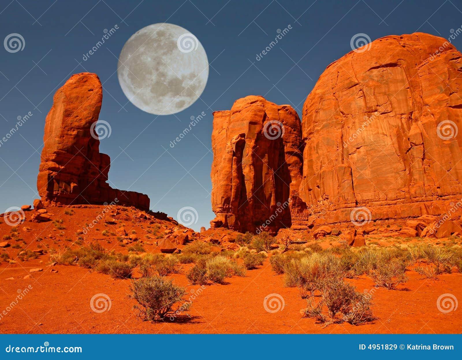 Le monument de pouce en vallée Arizona de monument