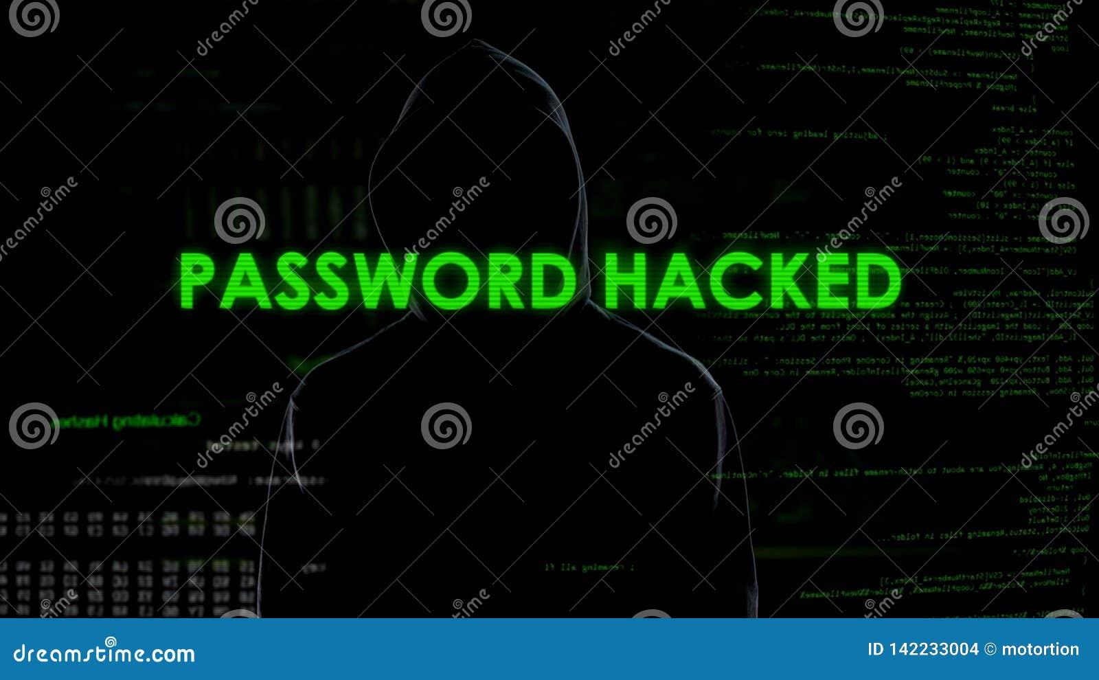 Le mot de passe a entaillé pour fendre l email, sécurité de la correspondance, fuite des données