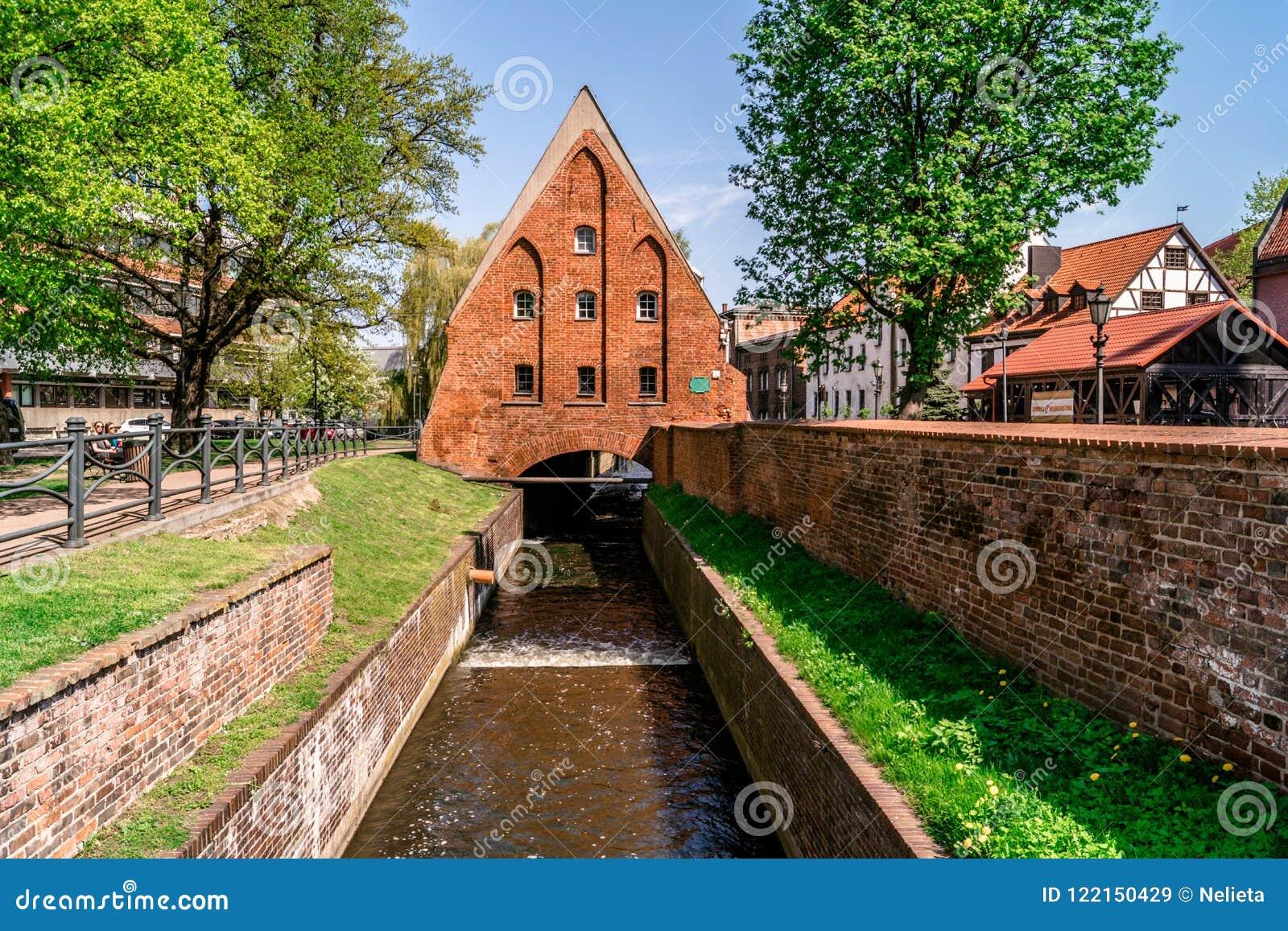 Le moulin de Wielki Mlyn à Danzig