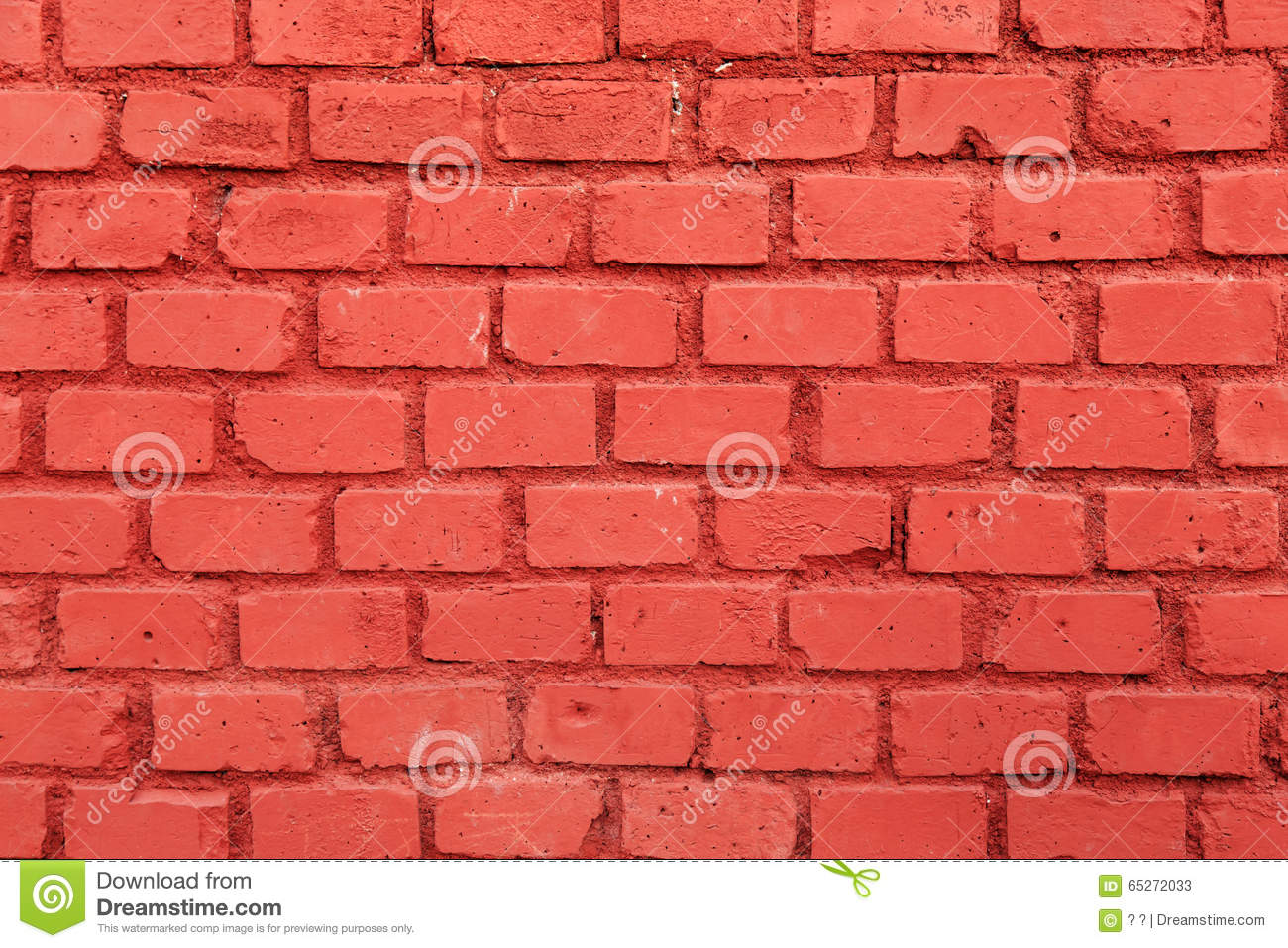 Le Mur De Briques Rouge Photo Stock Image 65272033
