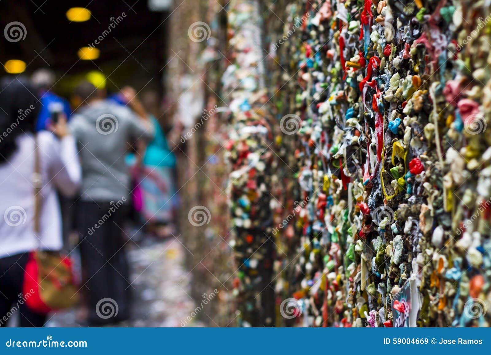 Le mur de gomme
