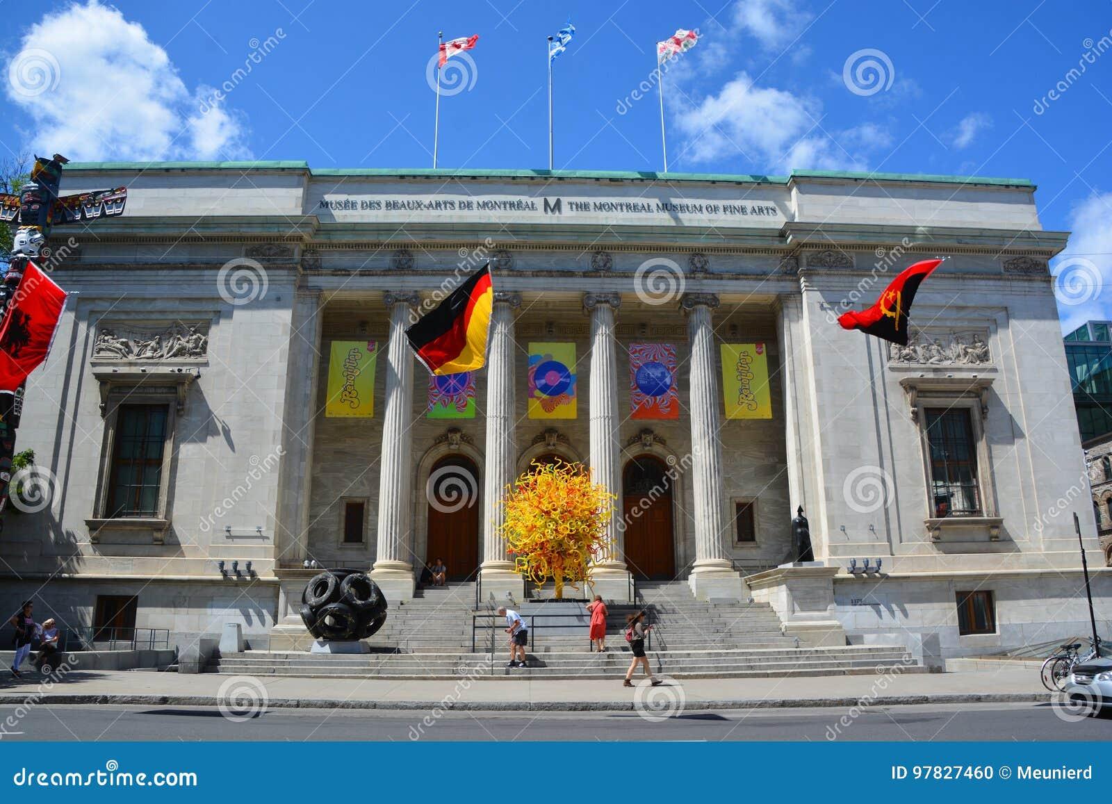 Le musée de Montréal des beaux-arts