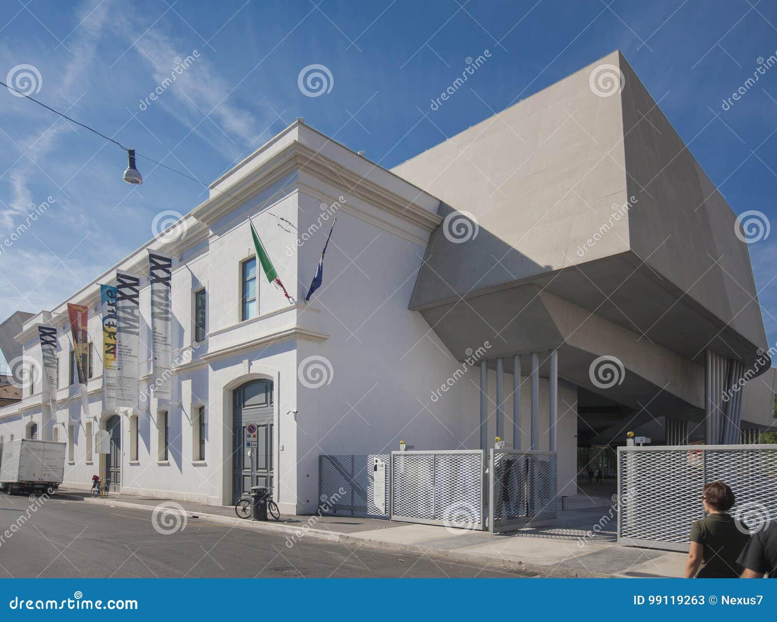 Le Musée National de Maxxi des arts du 21ème siècle