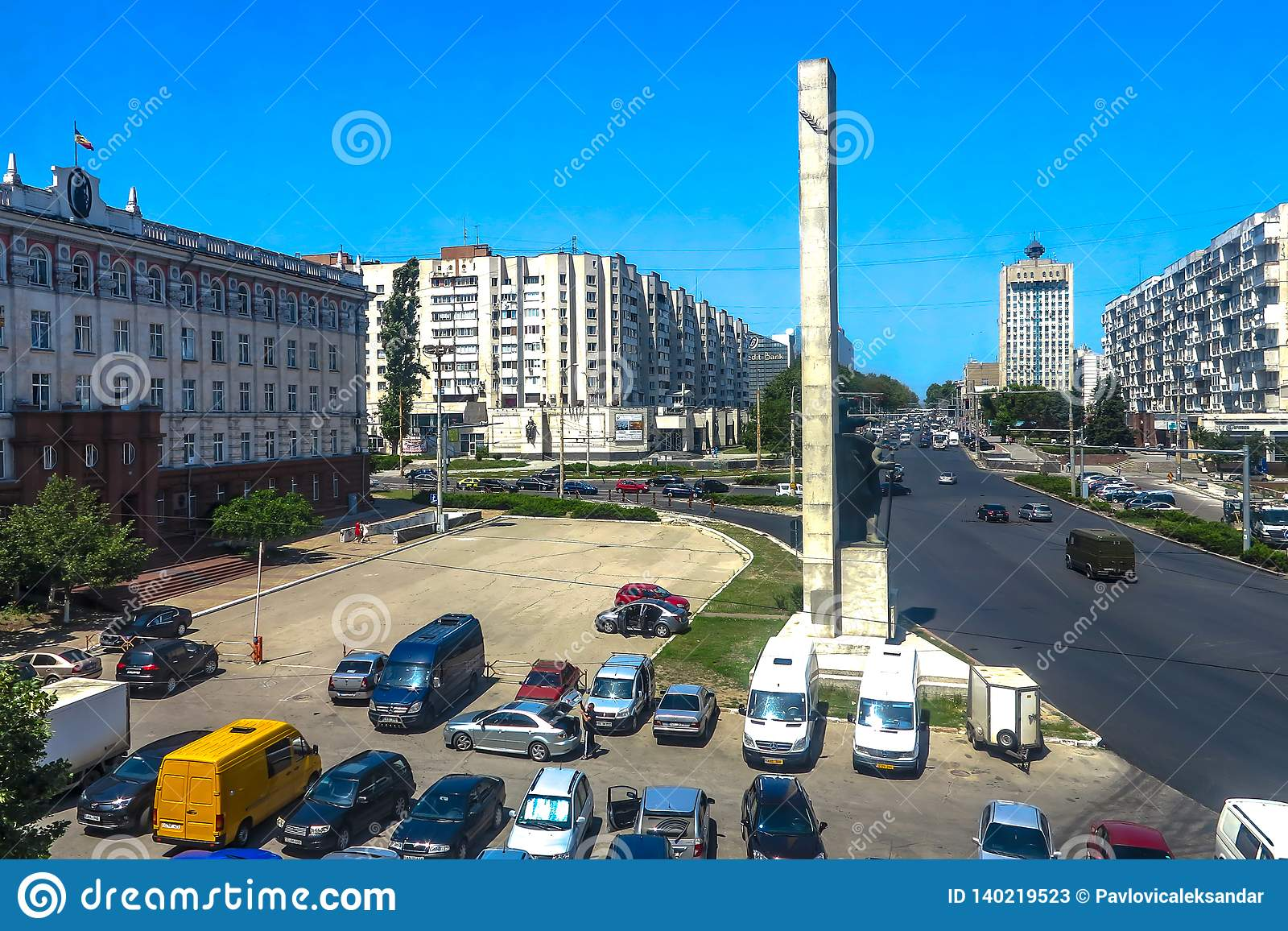 Le nazioni unite di Chisinau quadrano 01