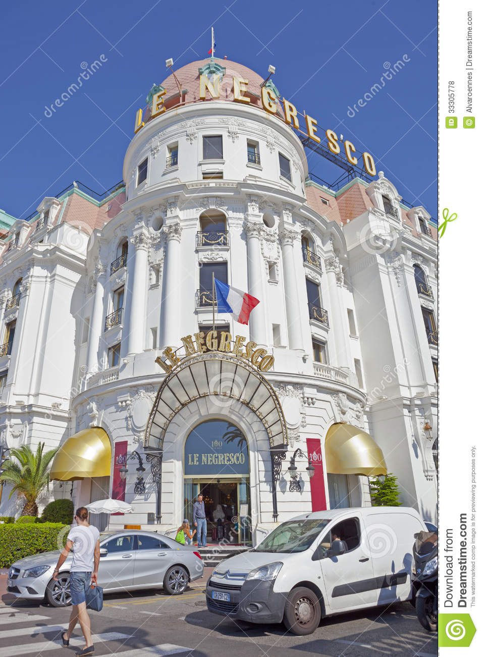 Le negresco editorial stock photo image 33305778 for Luxury hotels in nice