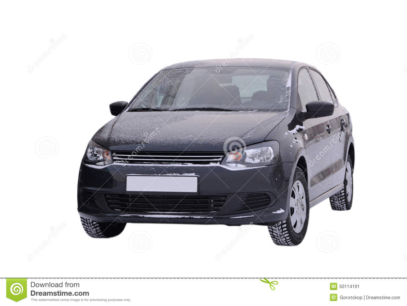 le noir de volkswagen polo de voiture sur un fond blanc photo stock image 50114191. Black Bedroom Furniture Sets. Home Design Ideas