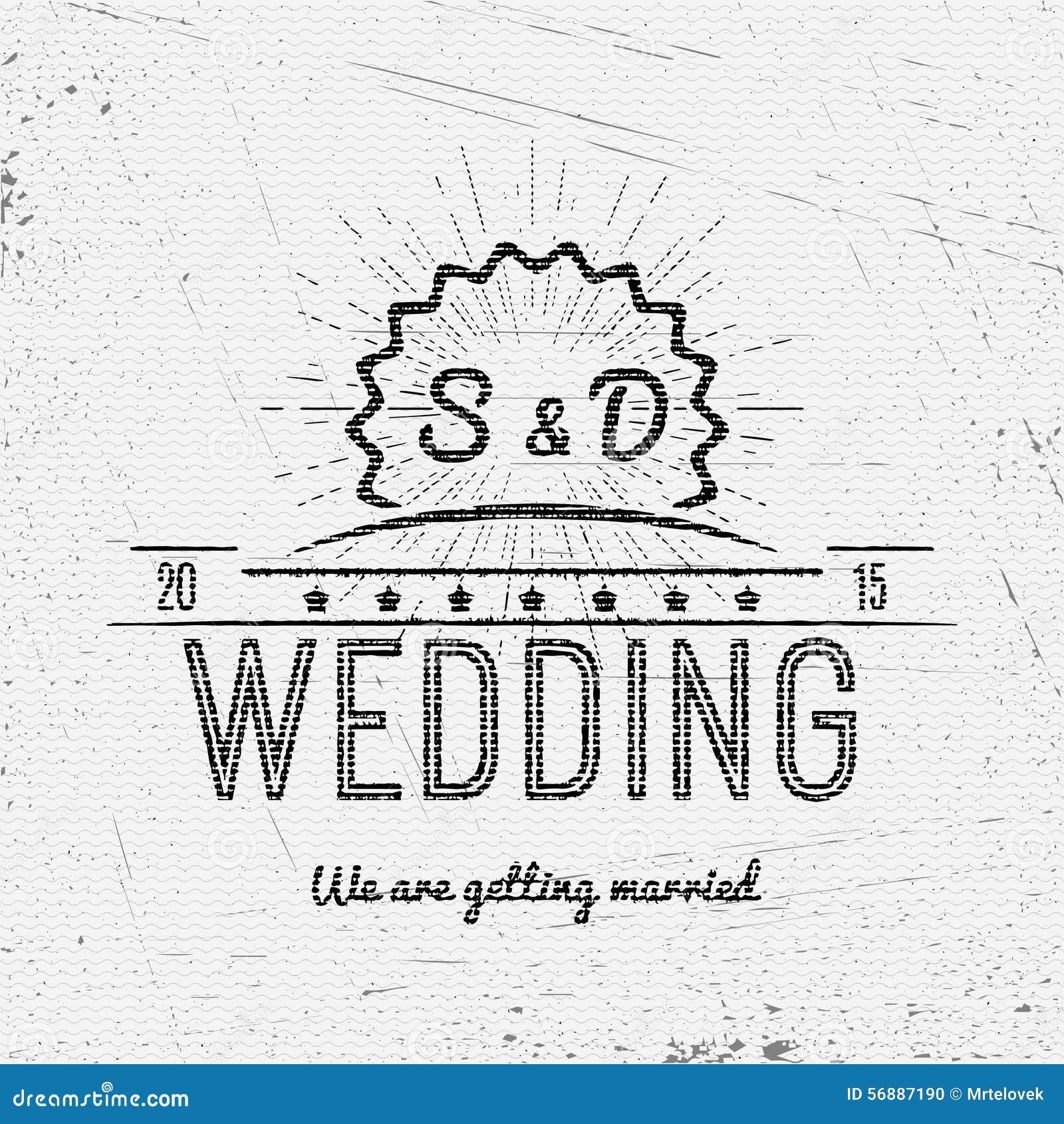 Le nozze badges le carte e le etichette per c è ne uso
