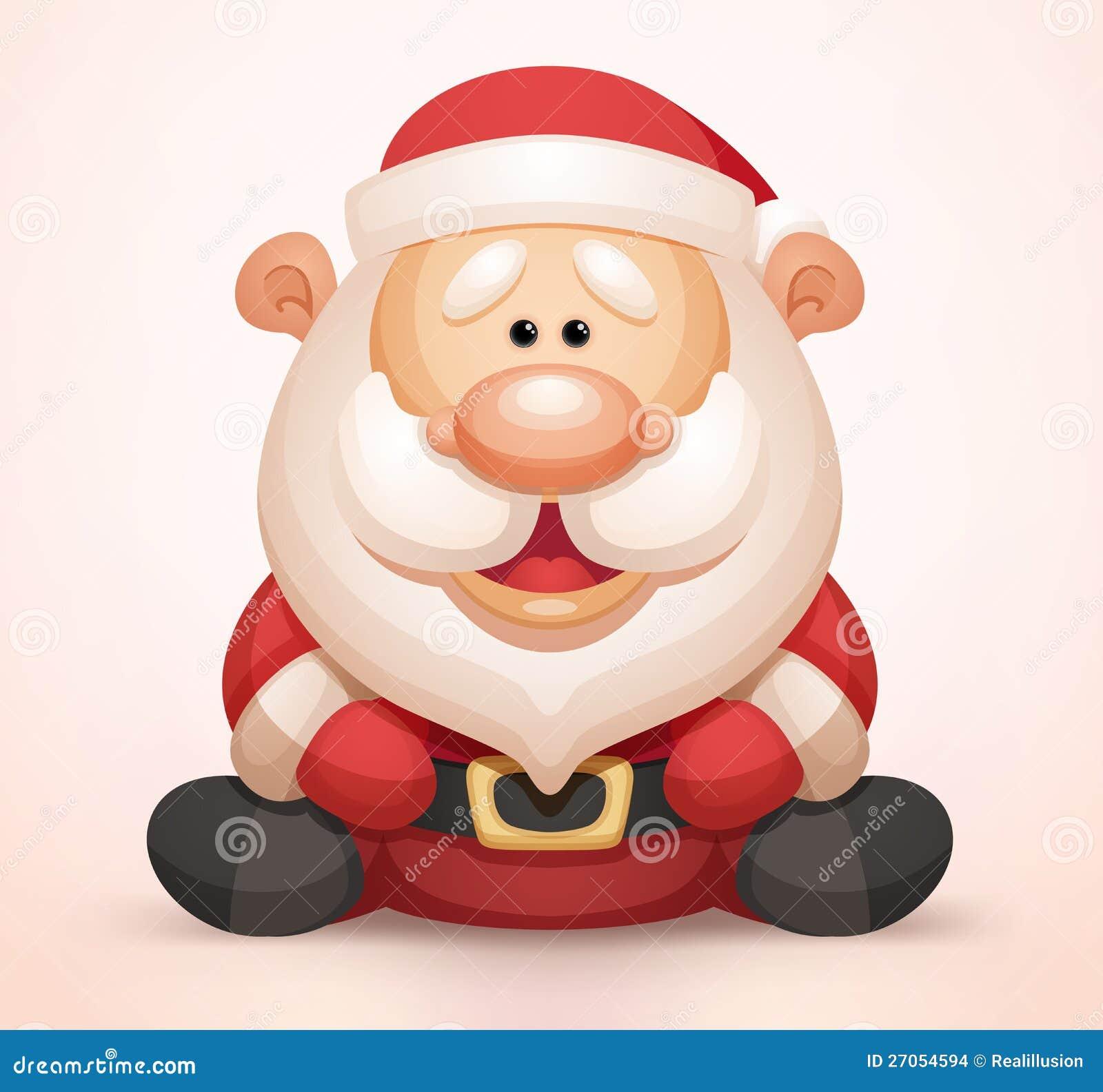Le Père Noël Illustration De Vecteur Illustration Du Séance