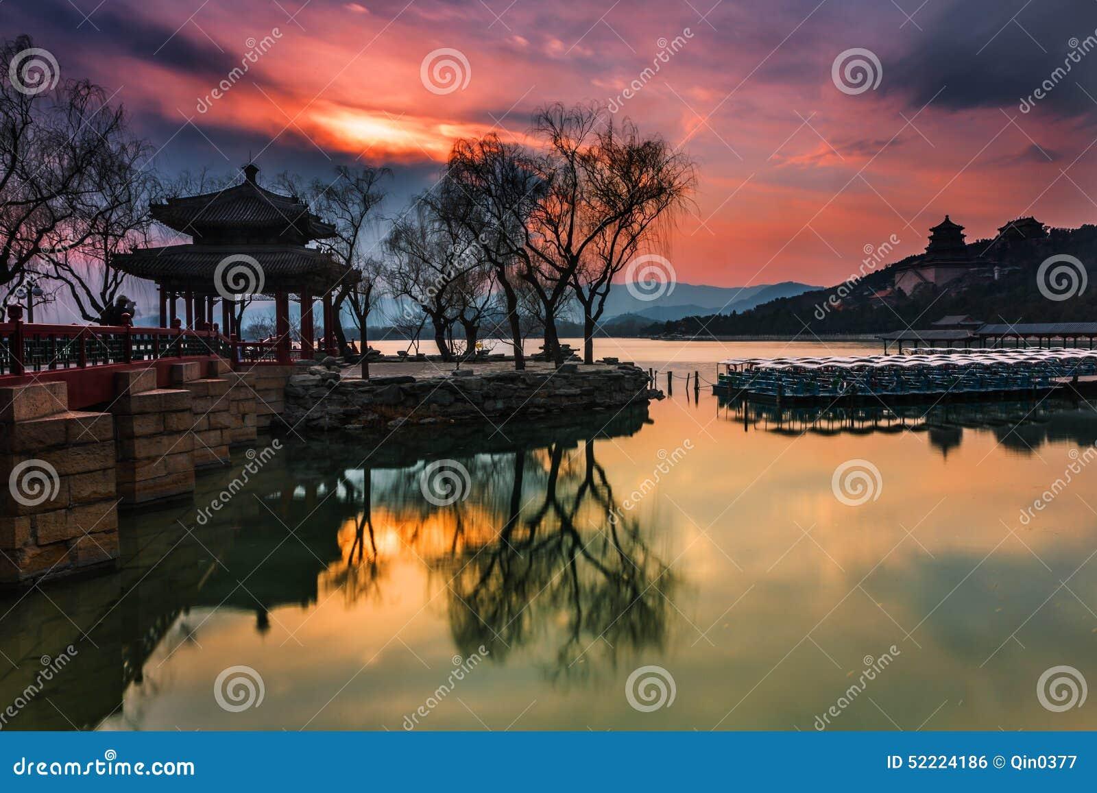 Le palais d été à Pékin